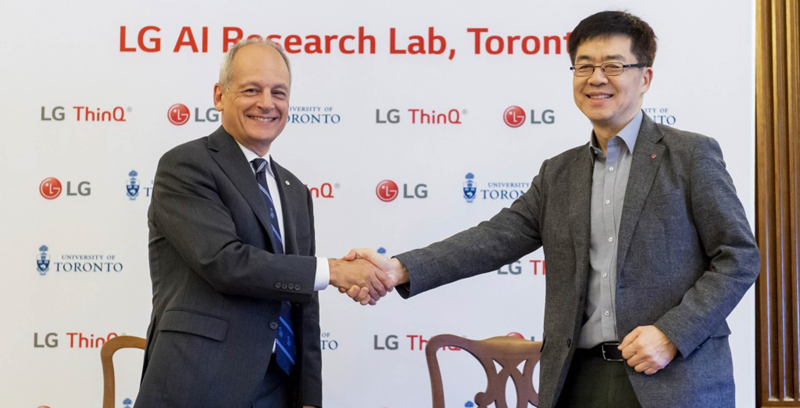 LG's new AI Research Lab at the University of Toronto