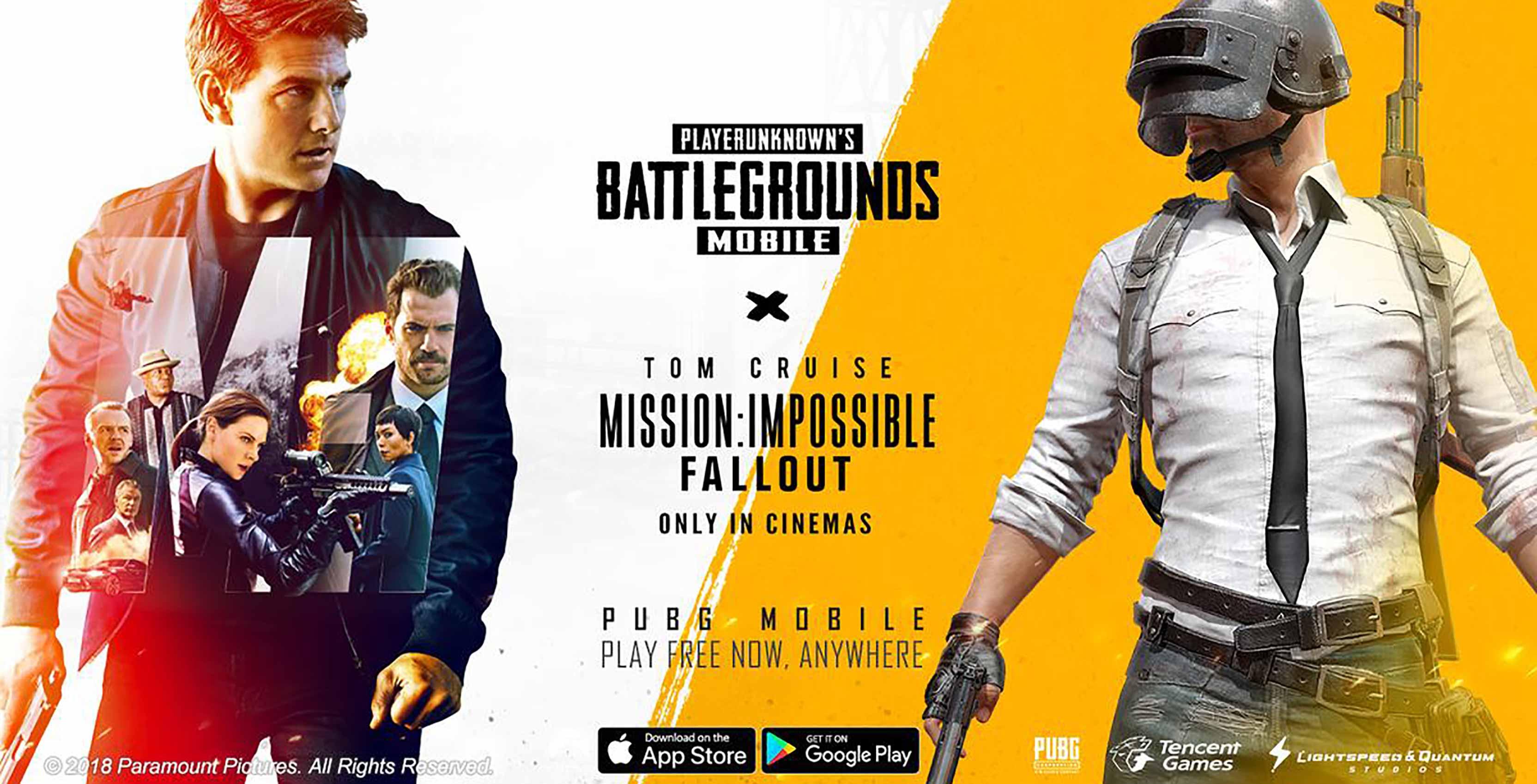 Mission: Impossible PUBG Mobile event