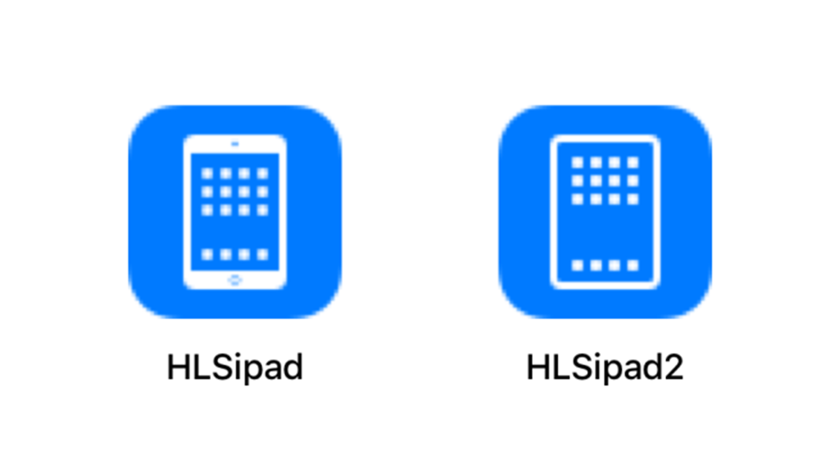 Assets for the new iPad