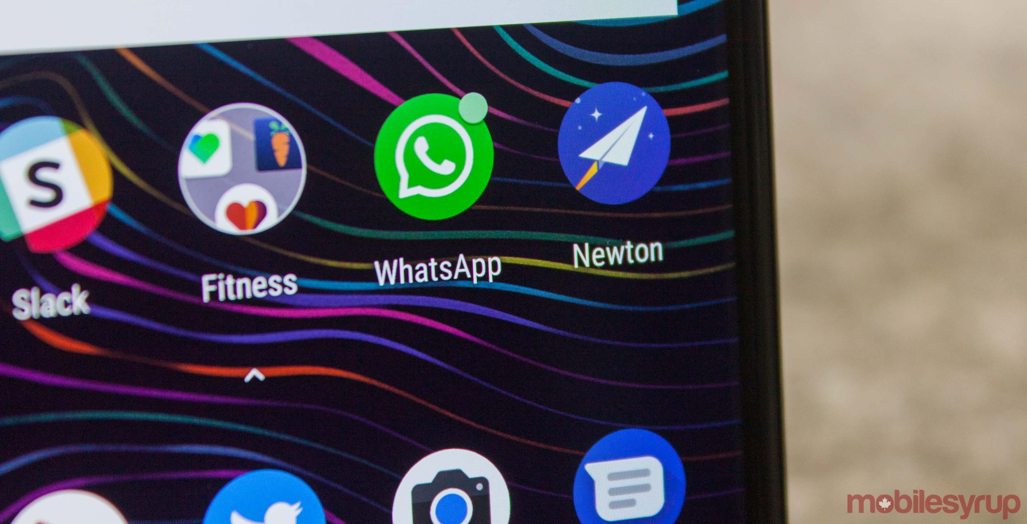 Newton app icon on Android