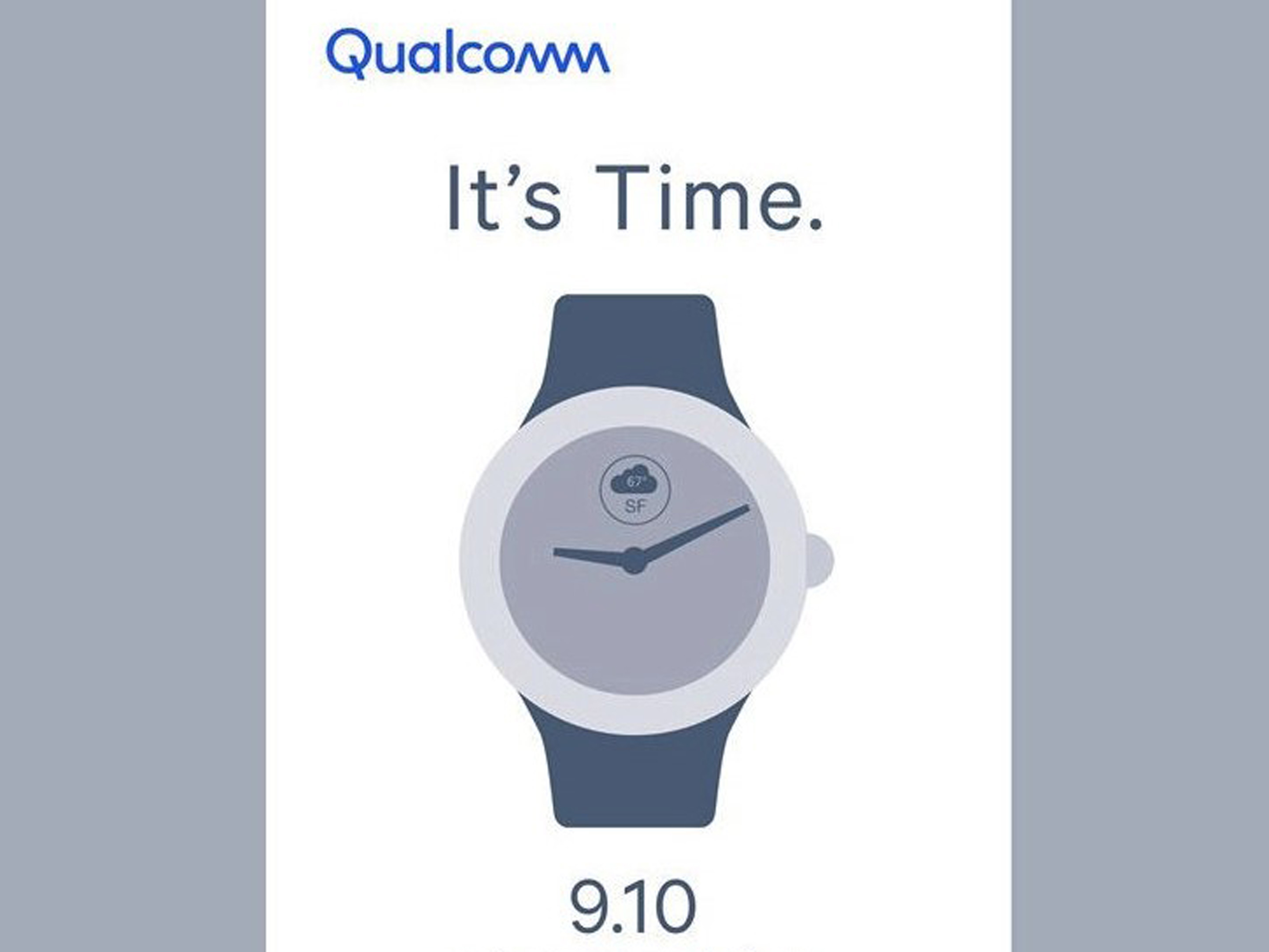 Qualcomm Wear OS invite