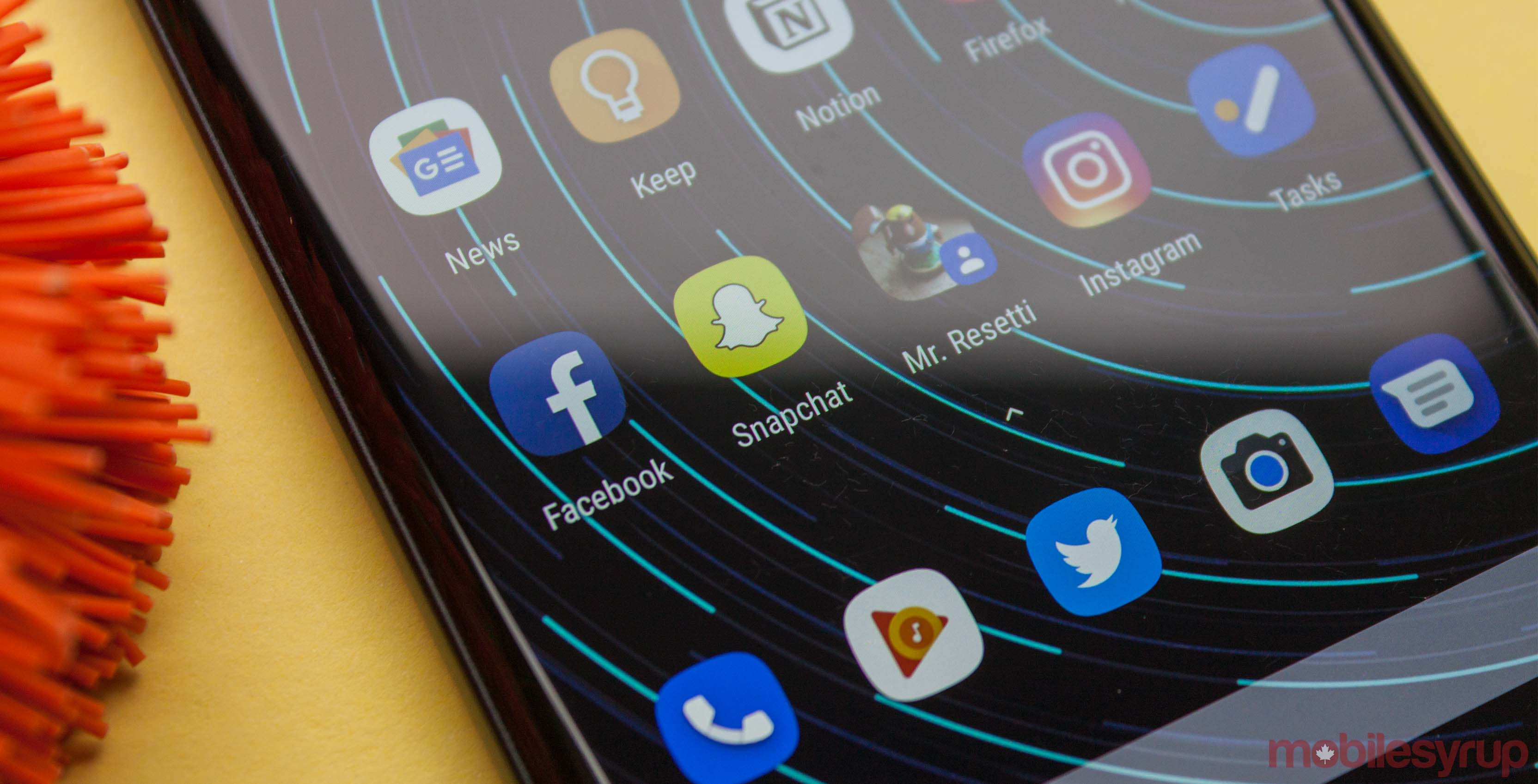 Snapchat adaptive icon