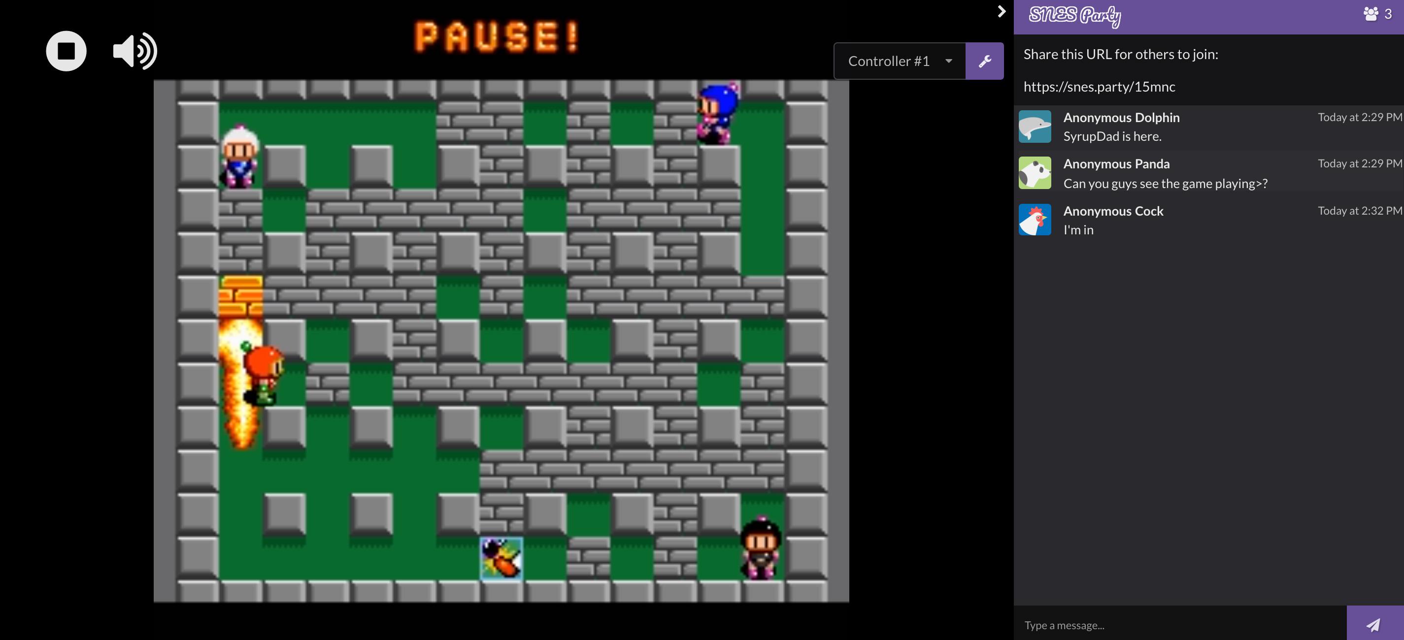 Super Bomberman SNES Party screenshot