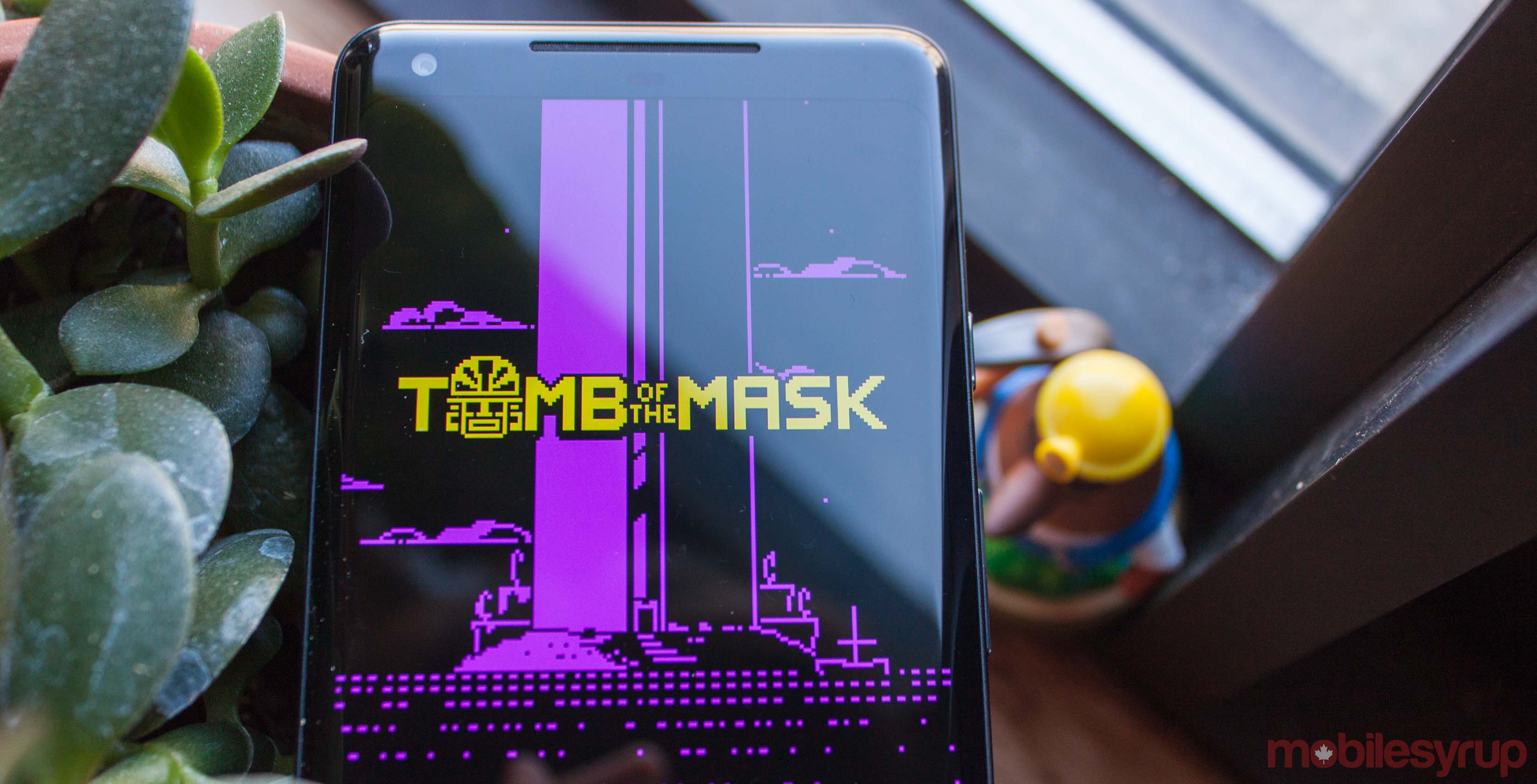 Tomb of the Mask title screen