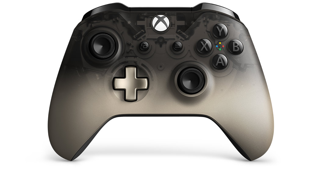 Xbox One Phantom Black controller