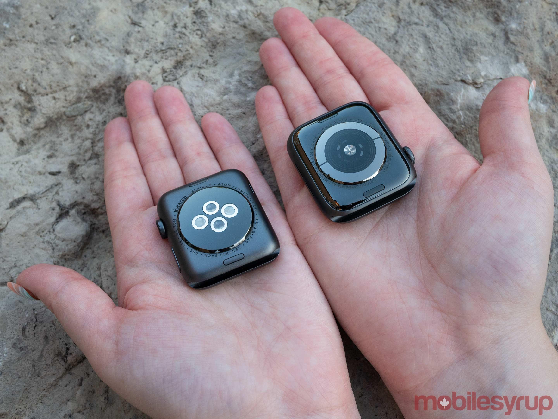 Apple Watch Series 4 rear