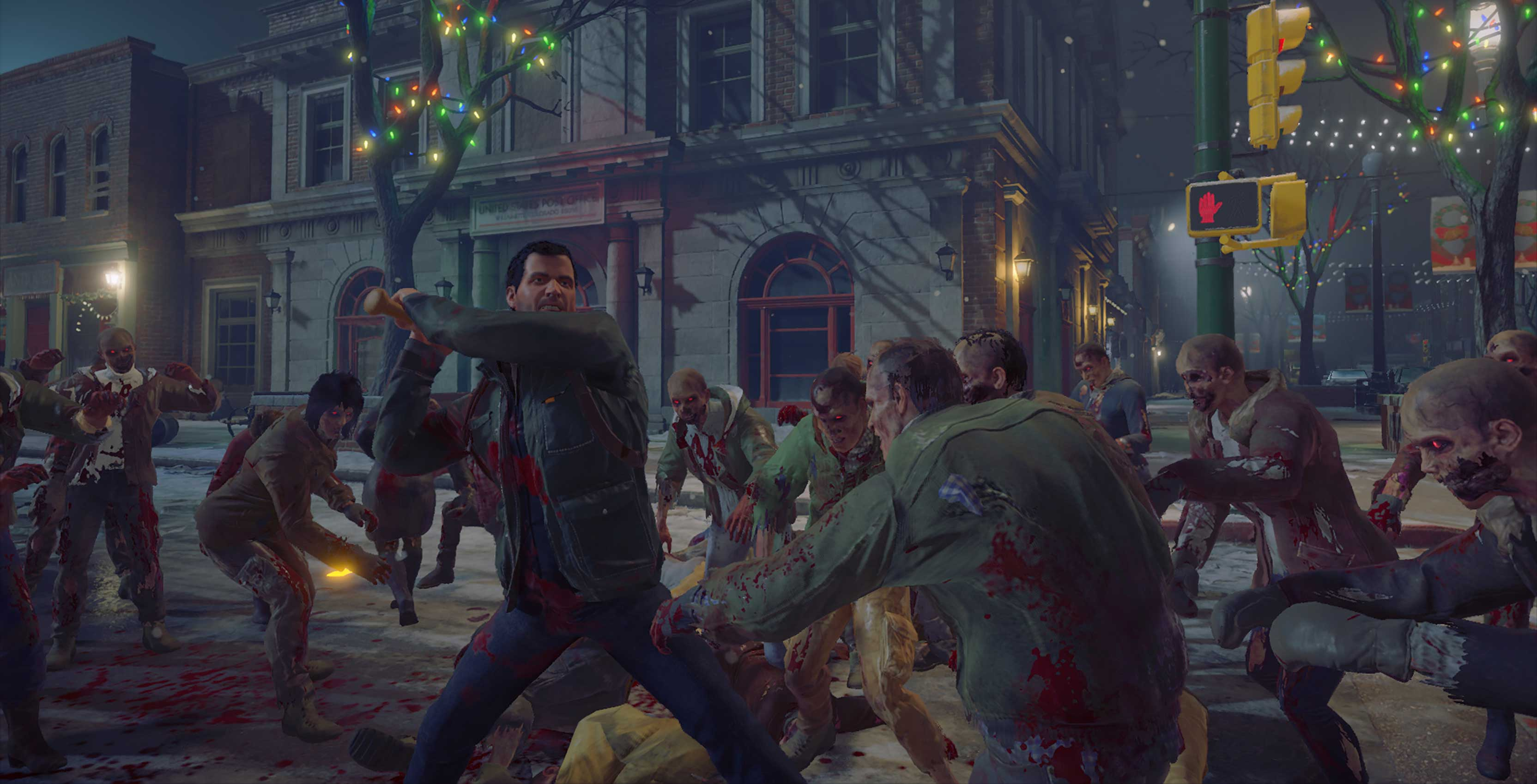 Dead Rising 4 Frank West fights zombies