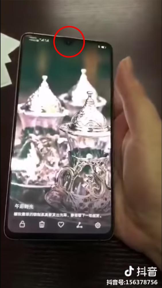 Huawei Mate 20 notch