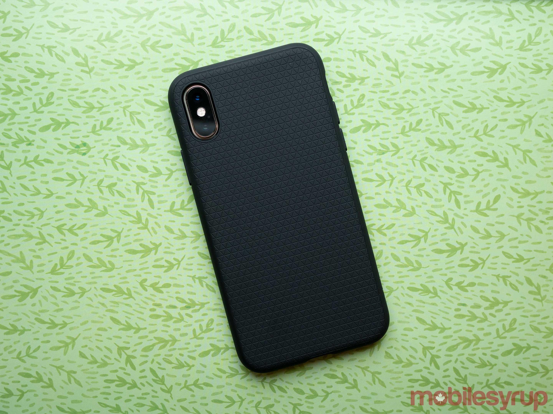 Spigen iPhone XS Liquid Hybrid case