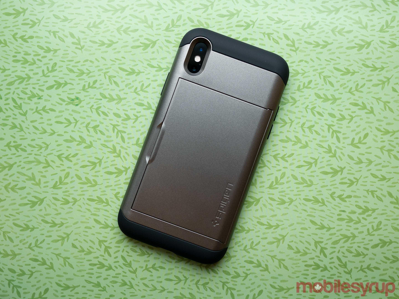 iPhone XS Spigen Slim Amor case