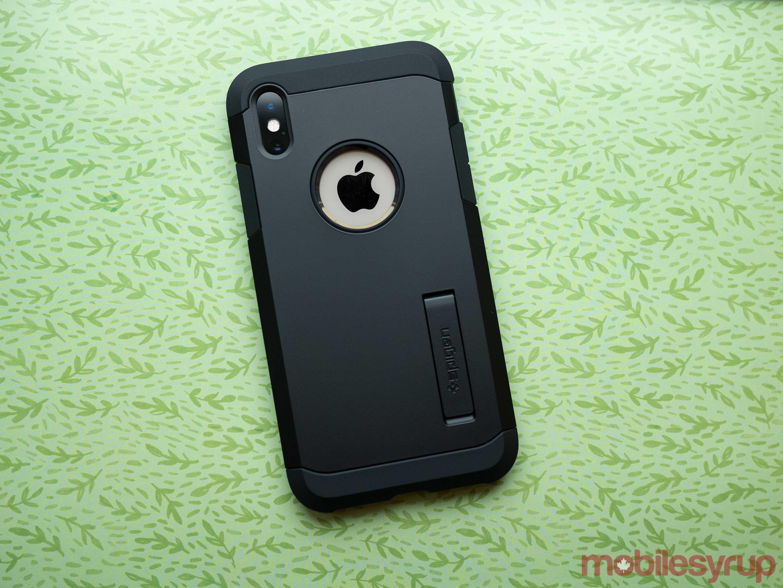iPhone XS Spigen Tough Armor case