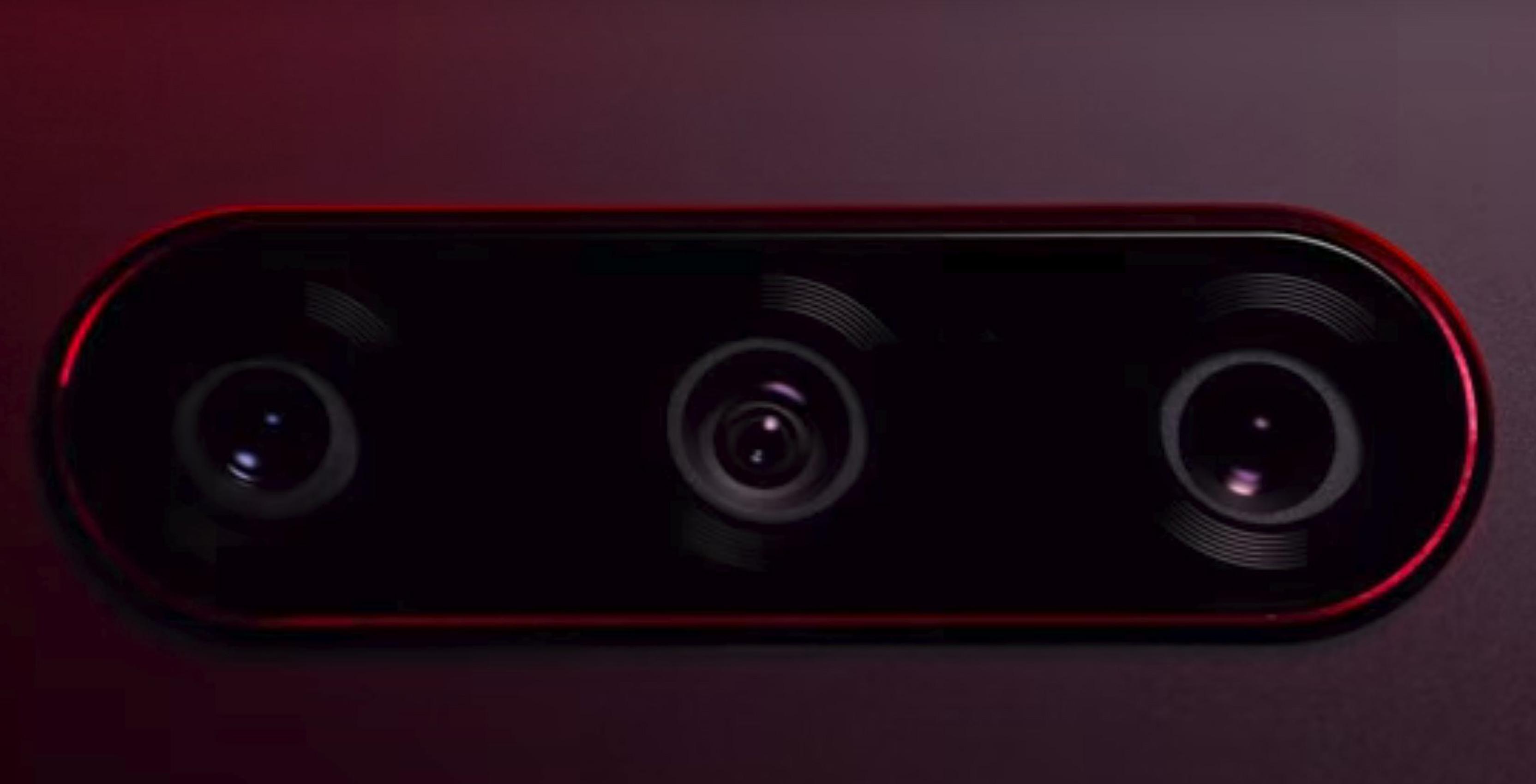 LG V40 triple rear cameras