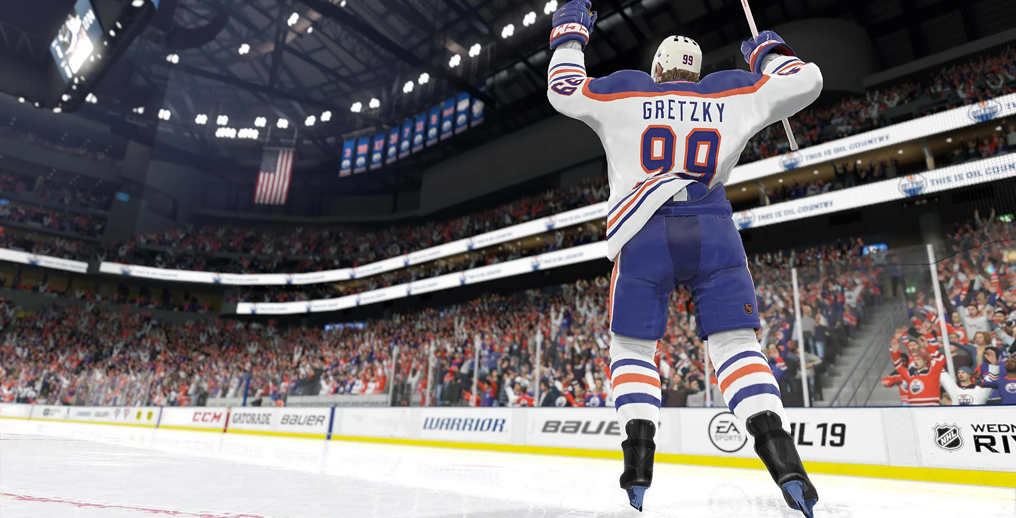 NHL 19 Wayne Gretsky