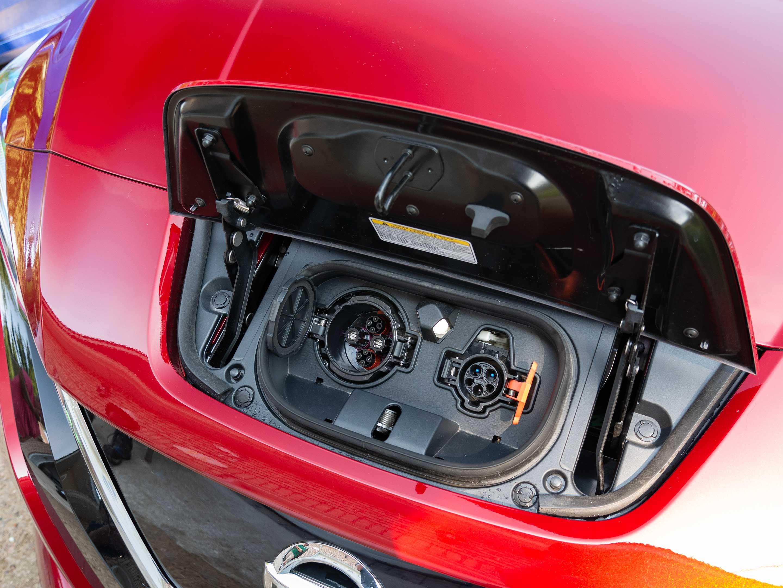 Nissan Leaf charging dock