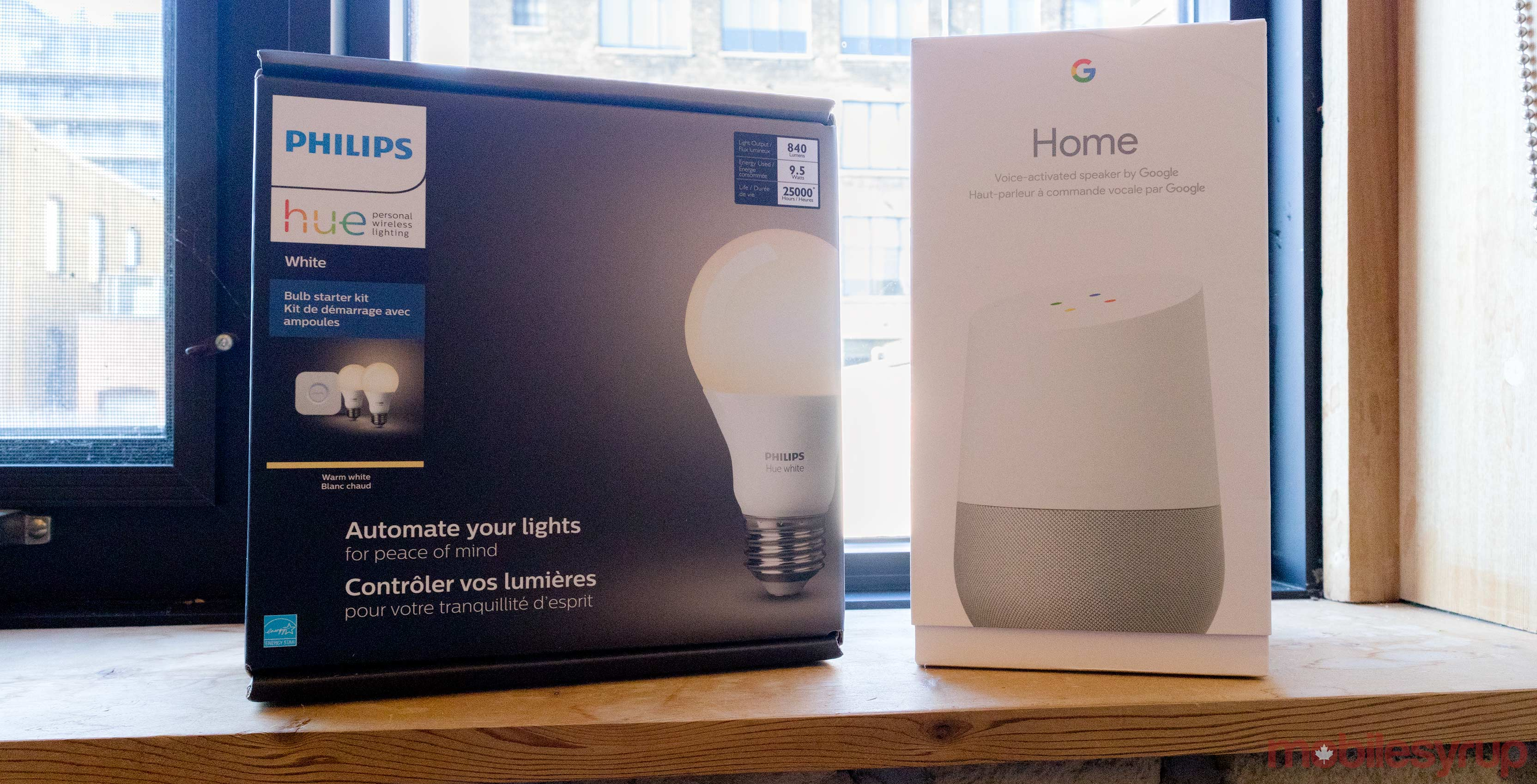 Philips Hue and Google Home
