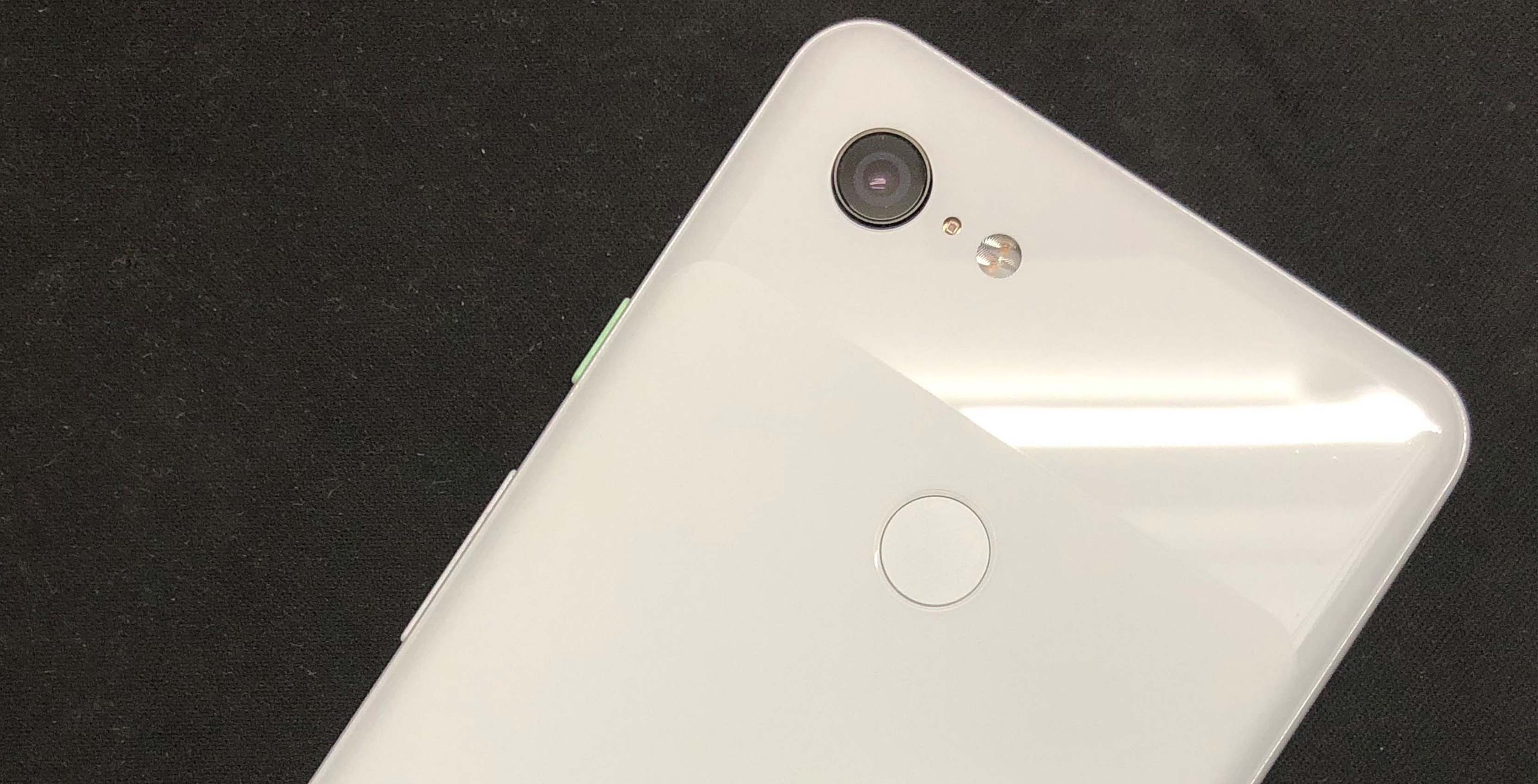 Pixel 3 XL rear via Ishan Agarwal