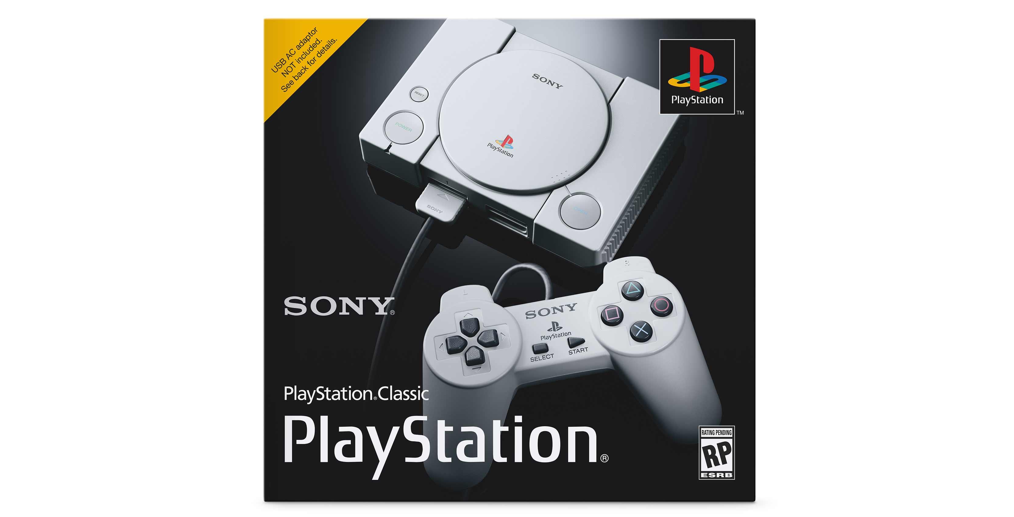 PlayStation Classic box