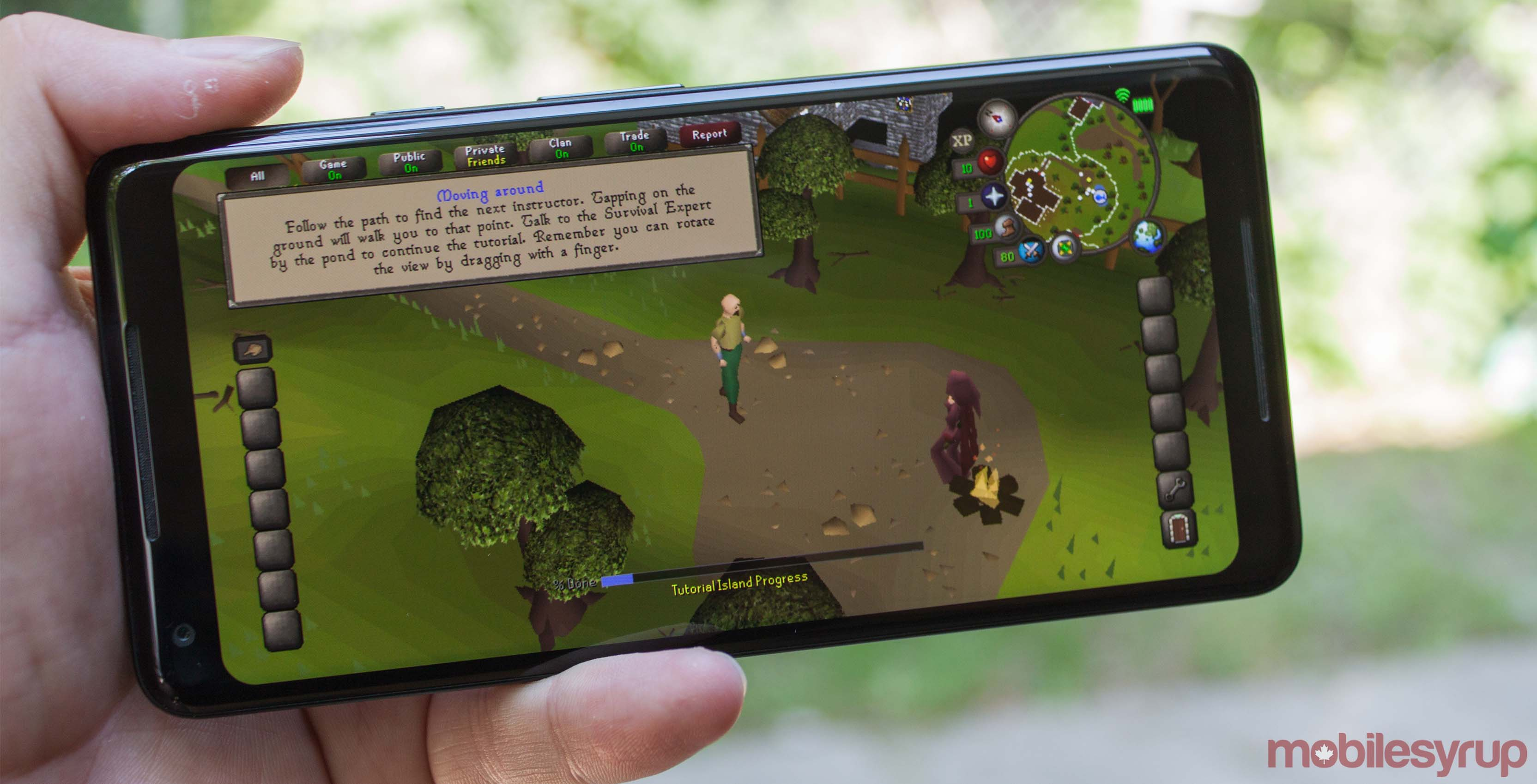 RuneScape on Android