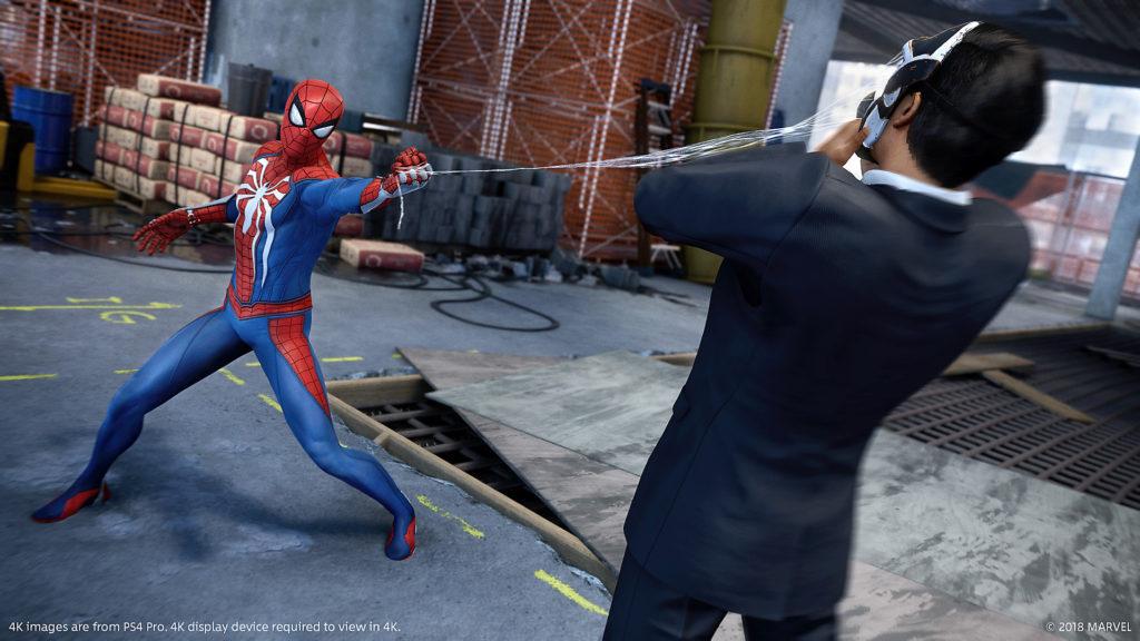 Spider-Man webbing Demon
