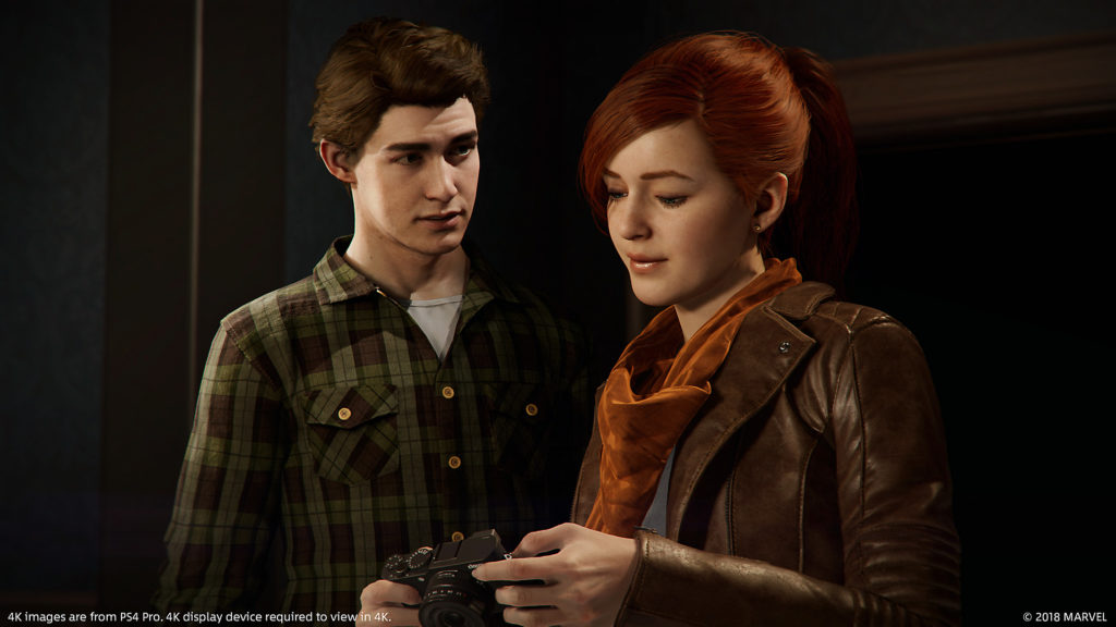 Peter Parker and Mary Jane