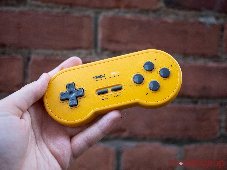 8Bitdo SN30 GP Yellow