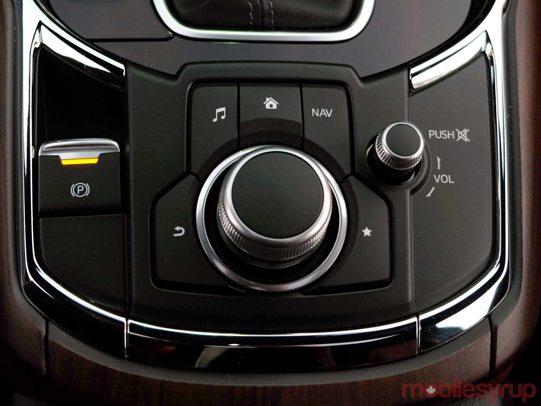 Mazda CX-9 rotary dial