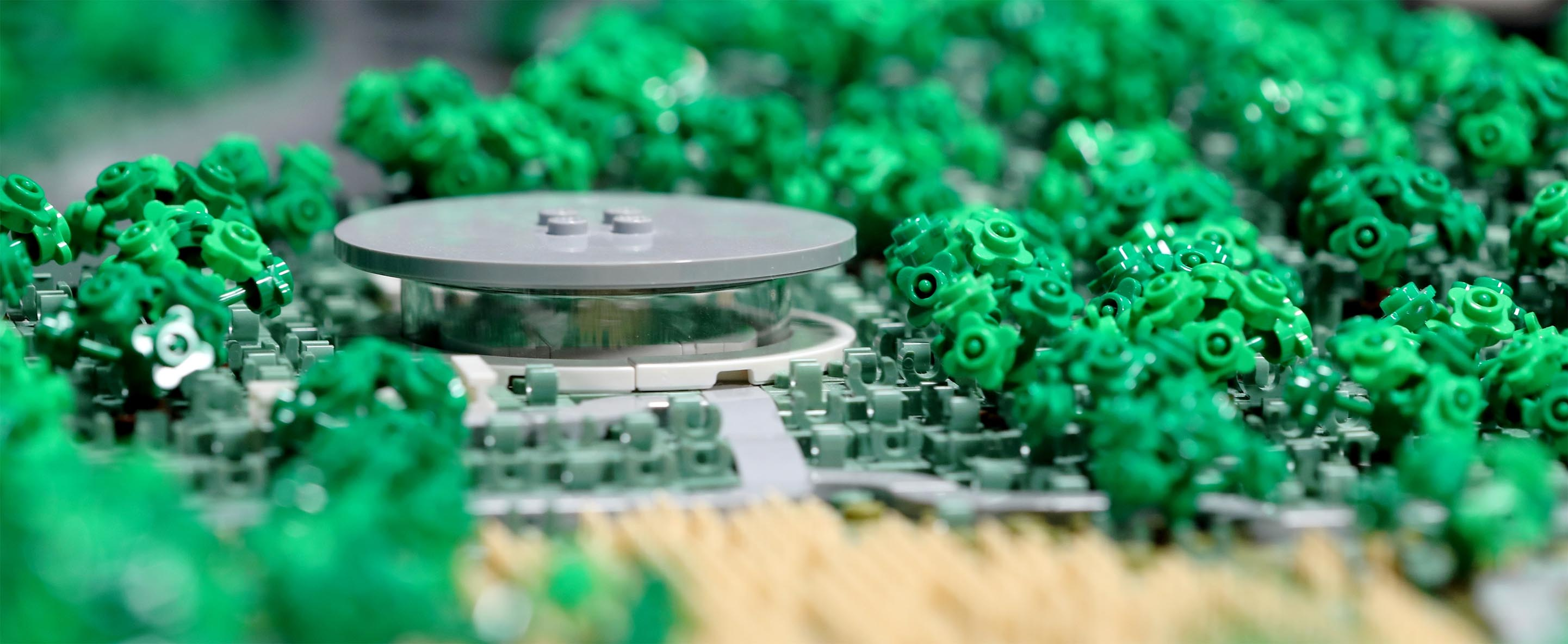 Steve Jobs Theater in Lego
