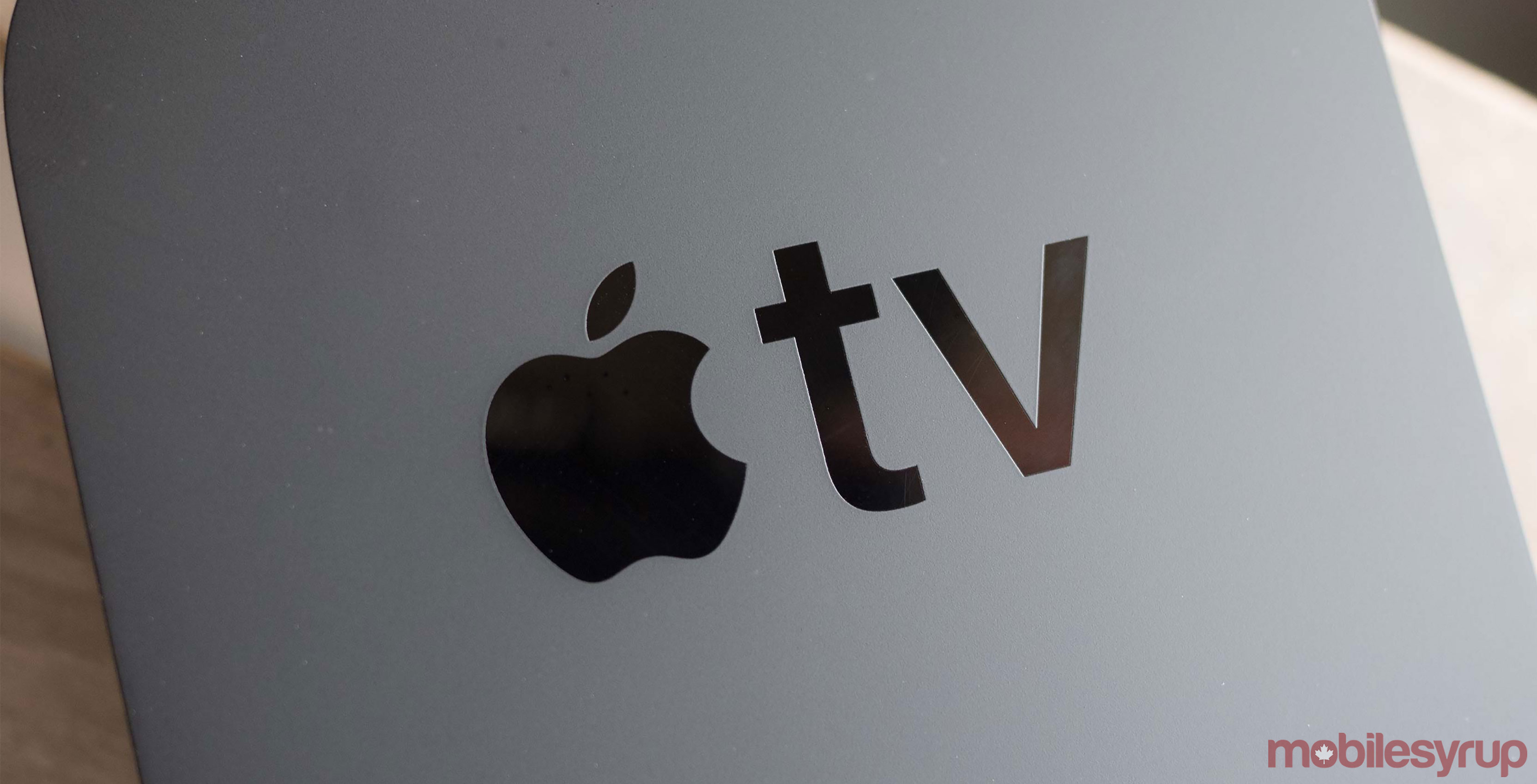 Apple TV 4th gen logo
