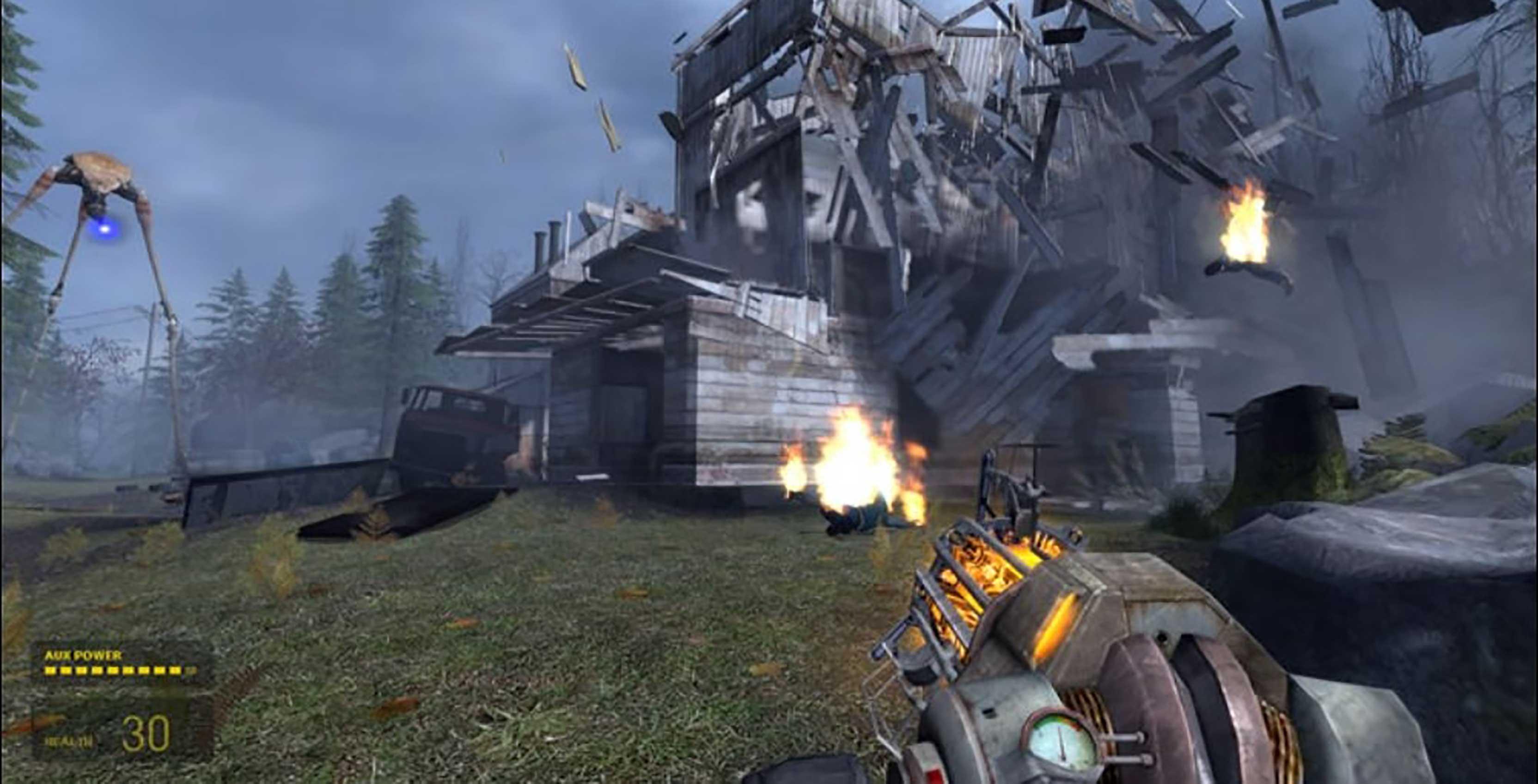 Half-Life 2 combat