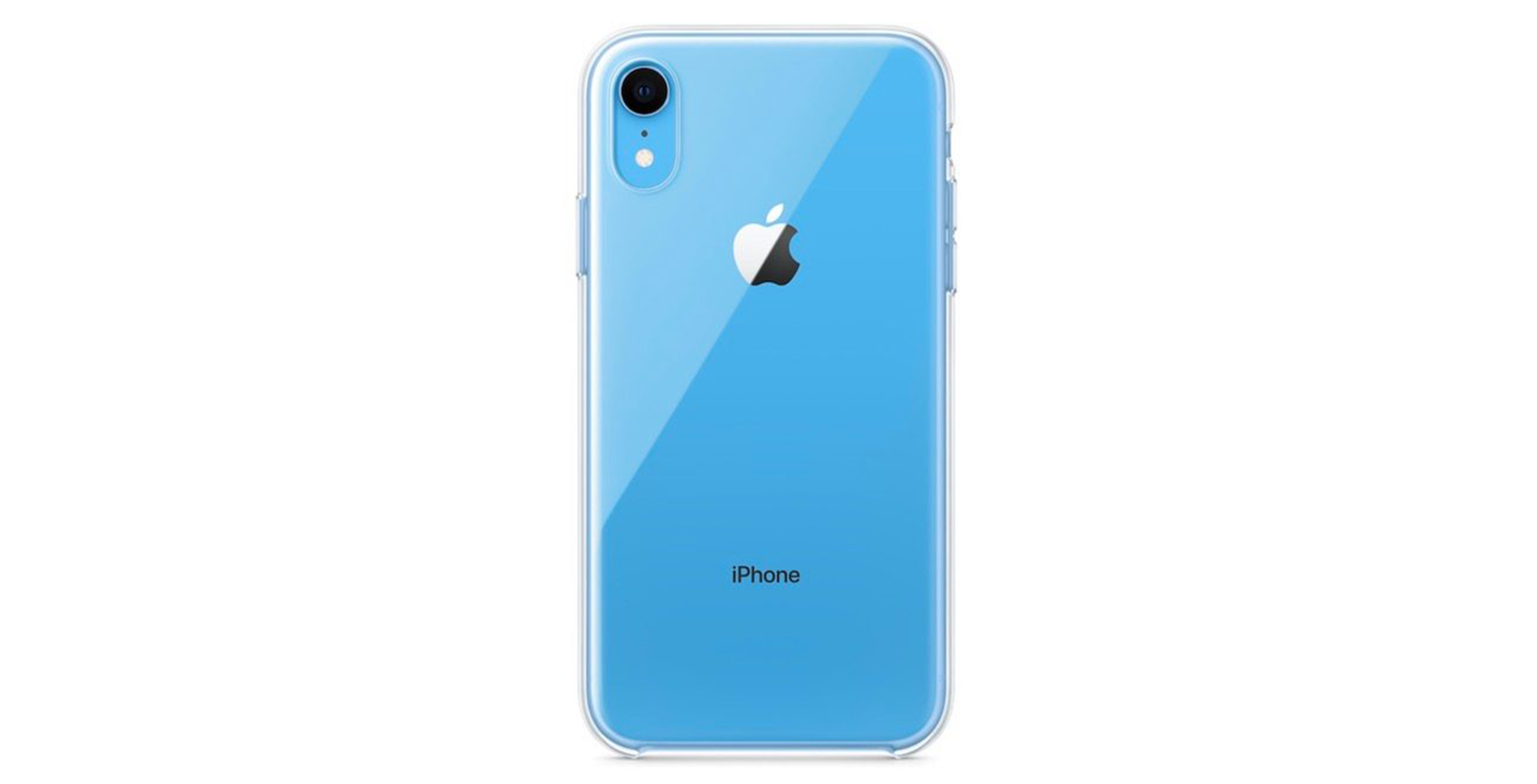 iPhone XR translucent case