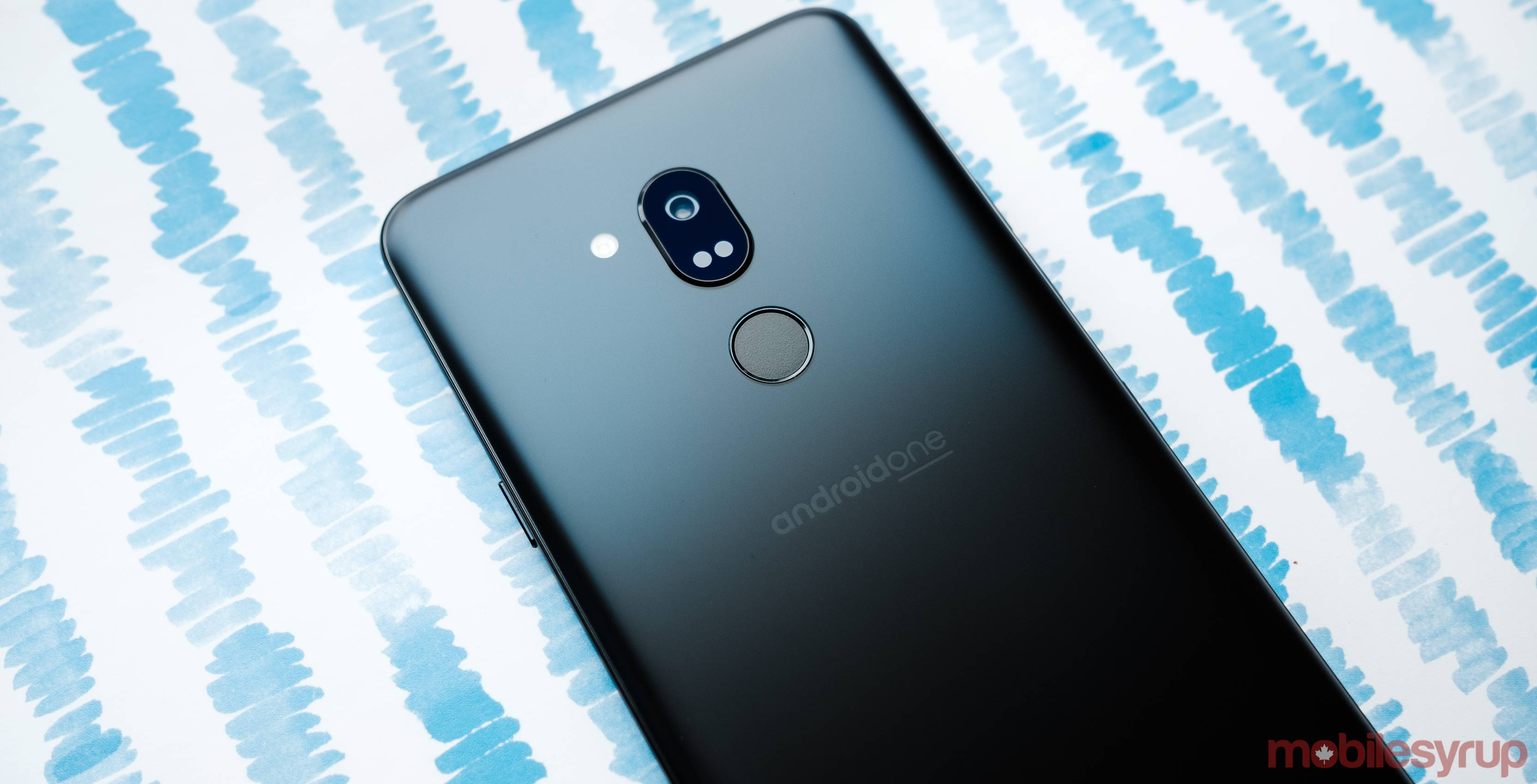 The LG G7 One is among the first Android One devices to come to Canada