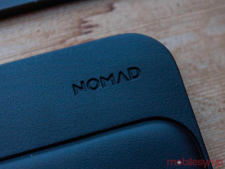 Nomad logo on the Base Station Hub