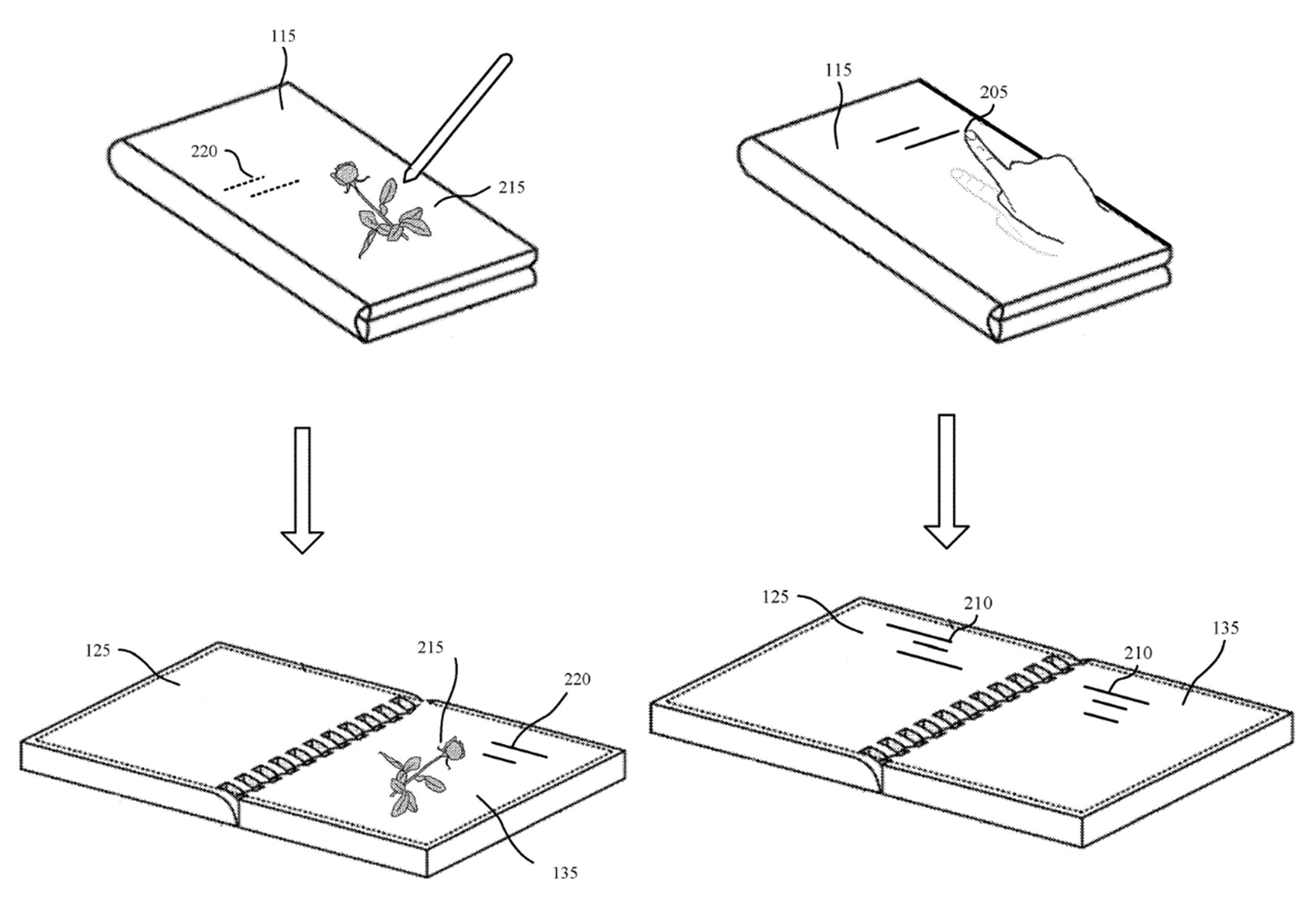 Andromeda exterior ink patent