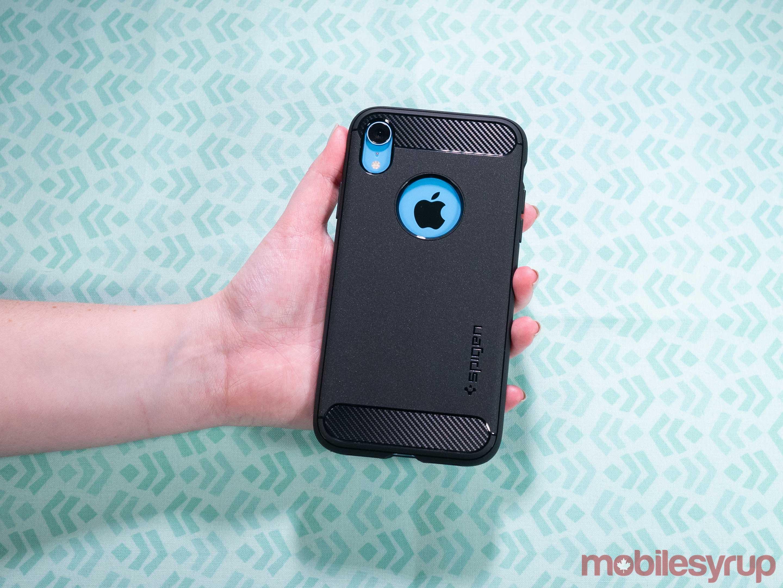iPhone XR Spigen Rugged Armor case