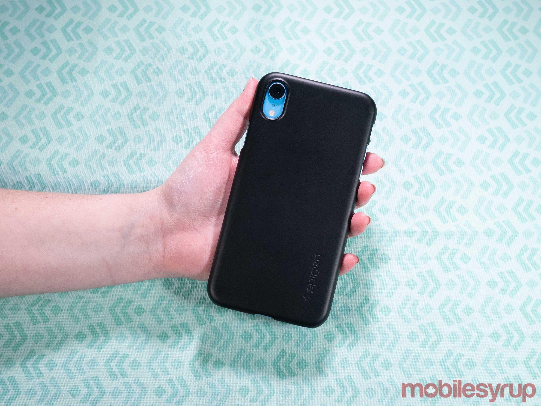 Spigen Thin Fit iPhone XR case