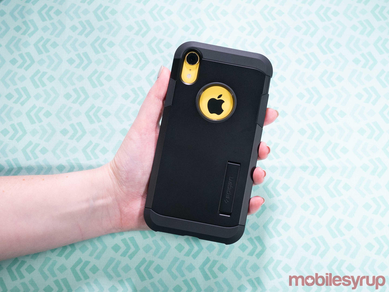 iPhone XR Spigen Tough Armor case