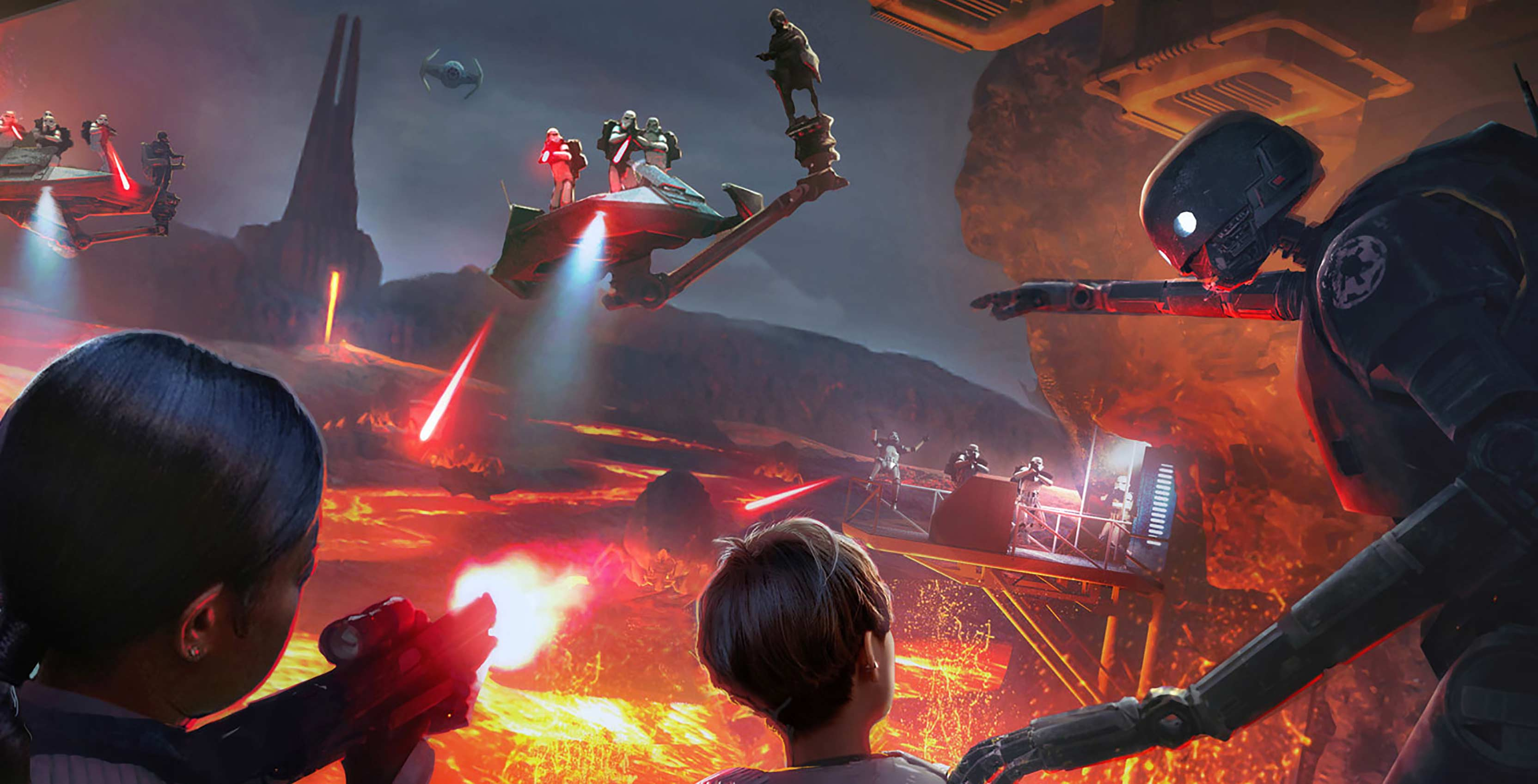 Star Wars Secrets of the Empire concept art