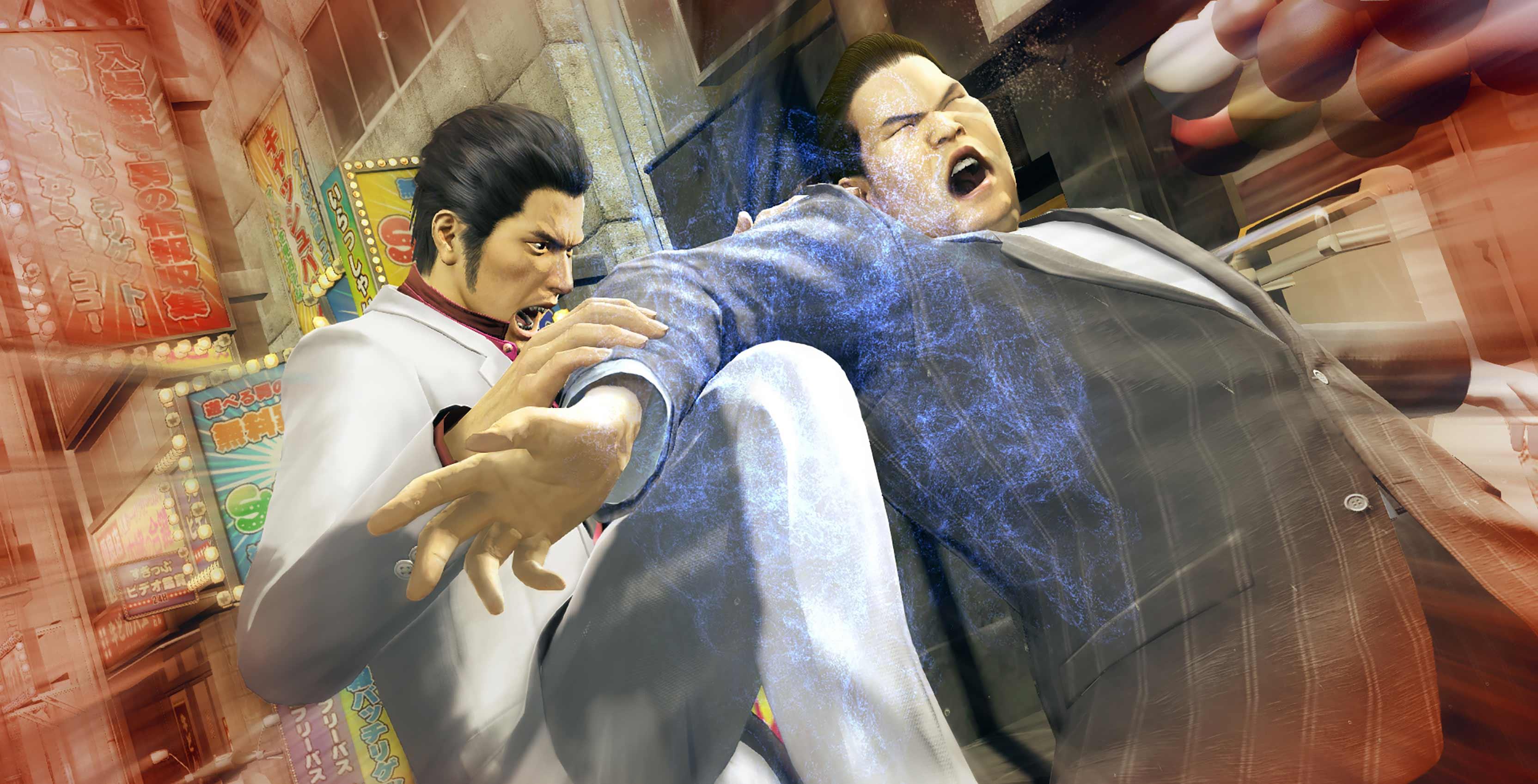 Yakuza Kiwami combat