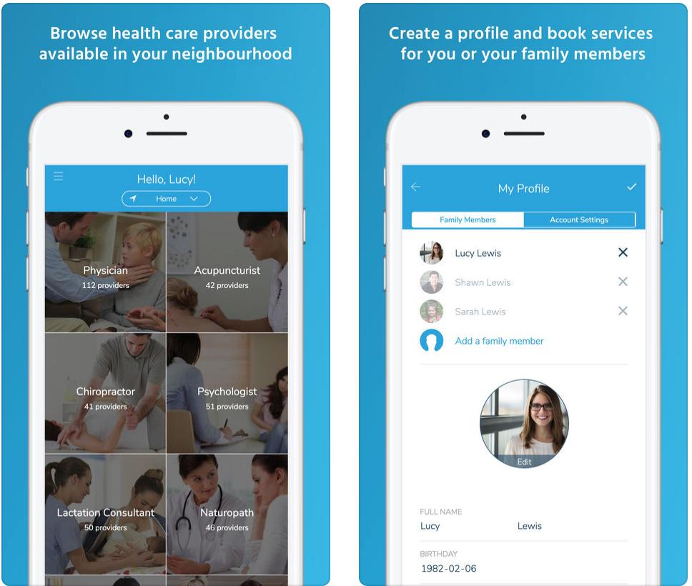 MediSeen iOS app