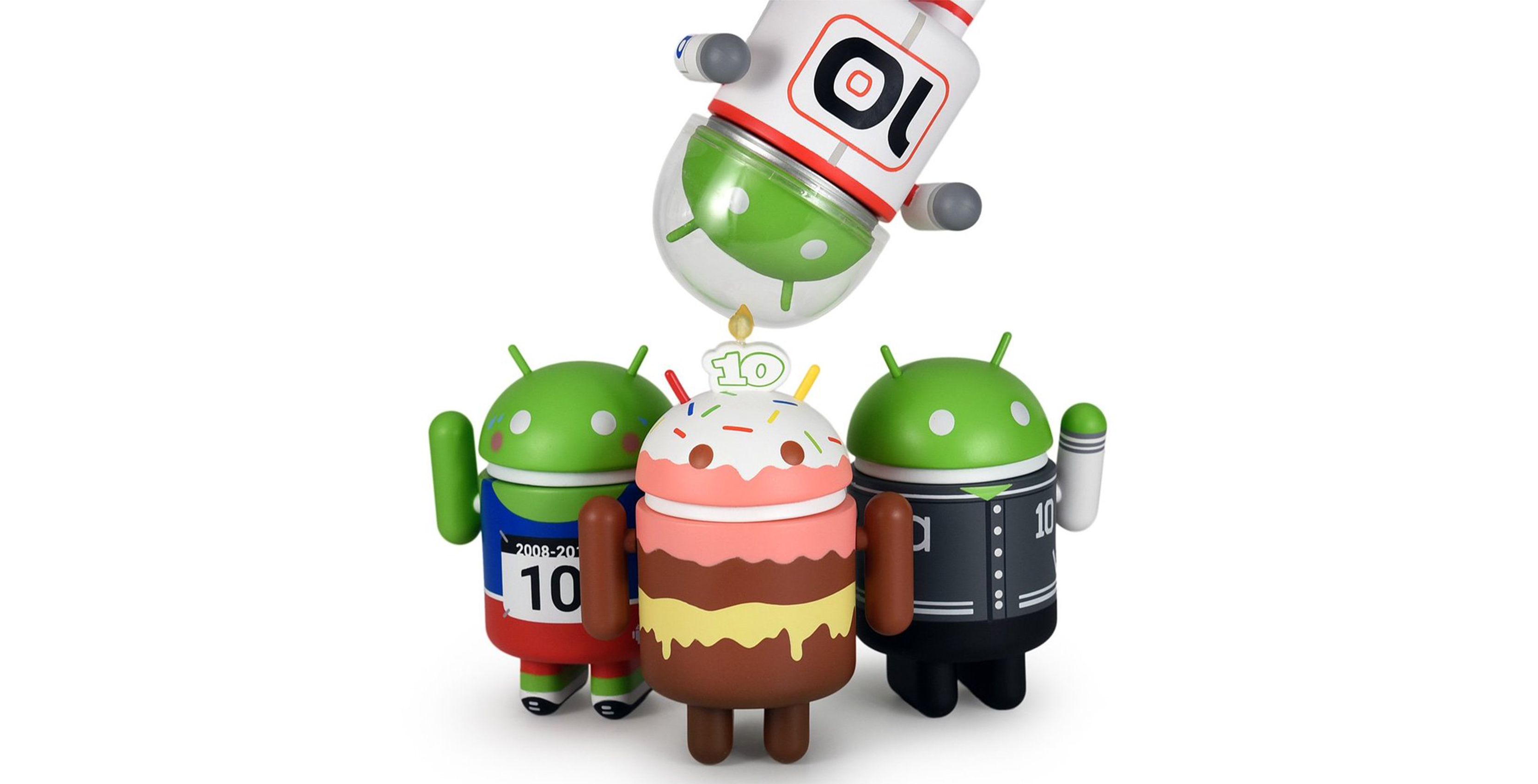 Android 10th birthday figures
