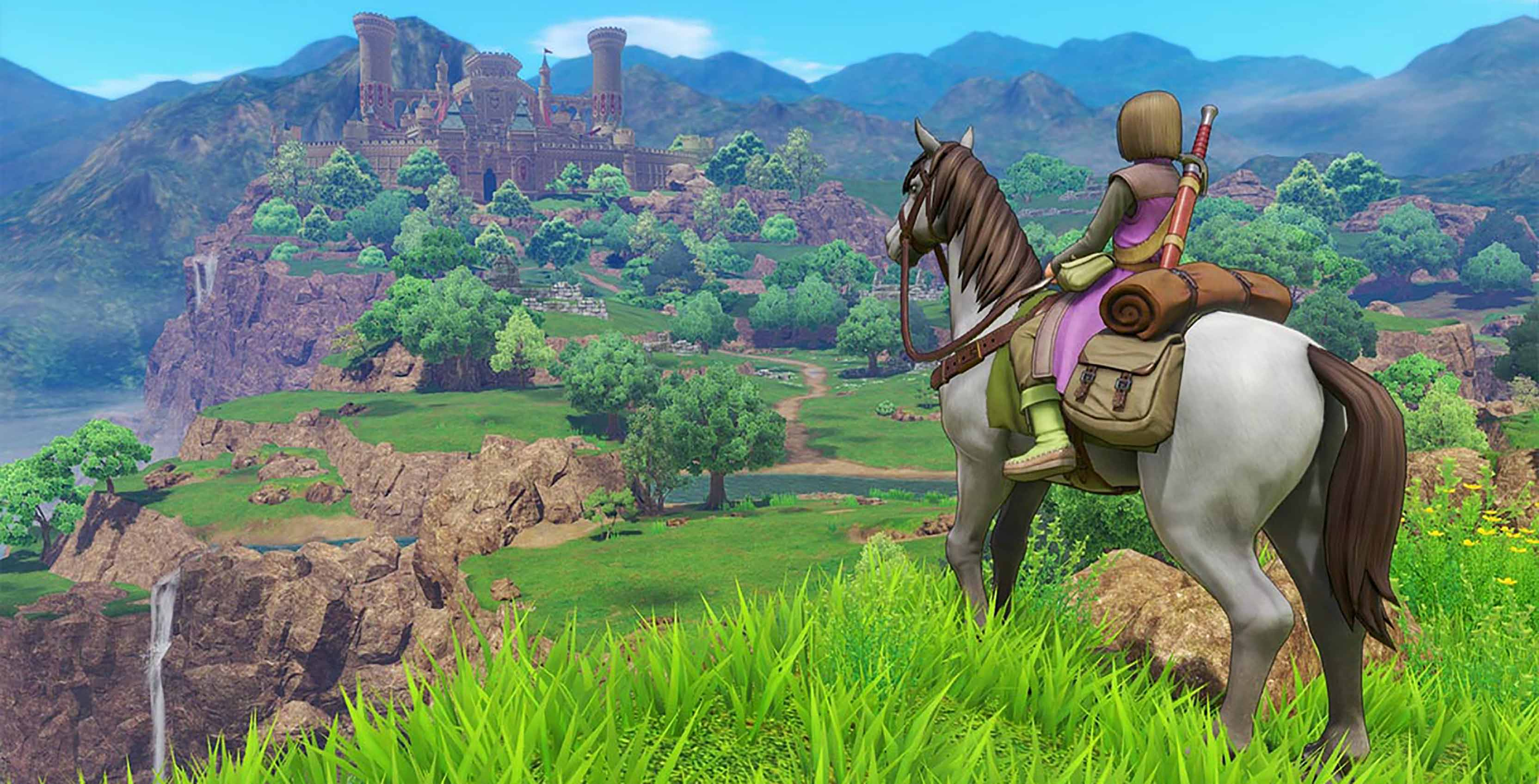 Dragon Quest XI horse