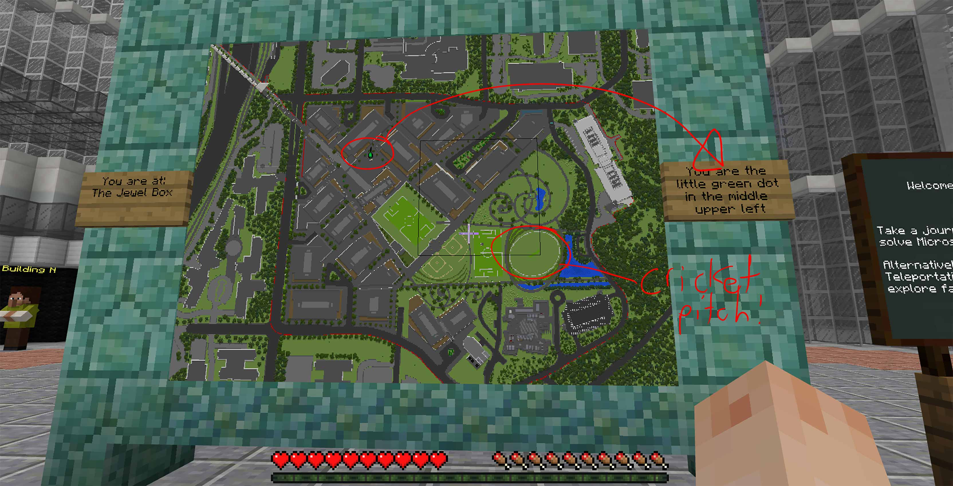 Minecraft HQ campus