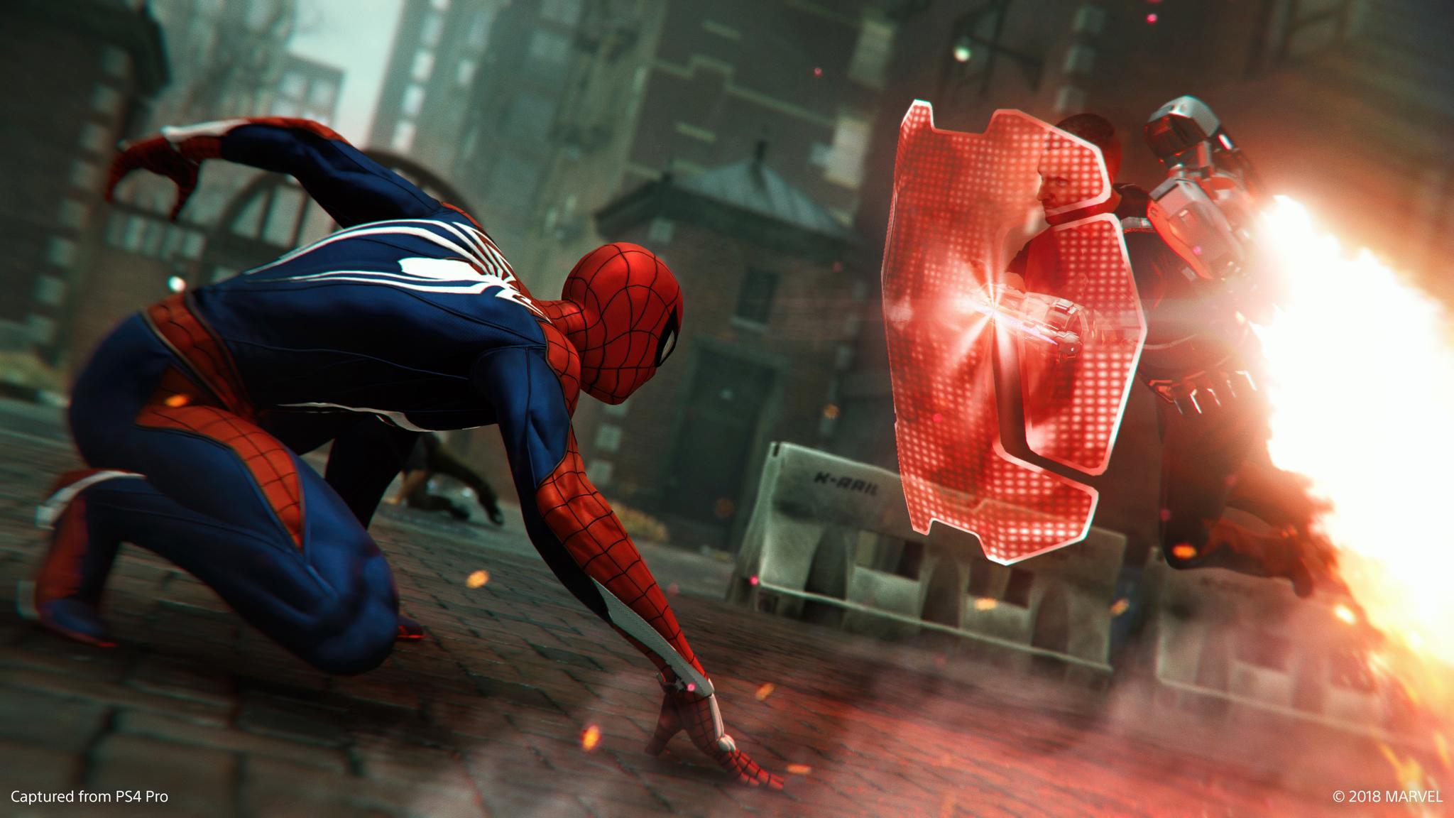Spider-Man Turf Wars shield enemy