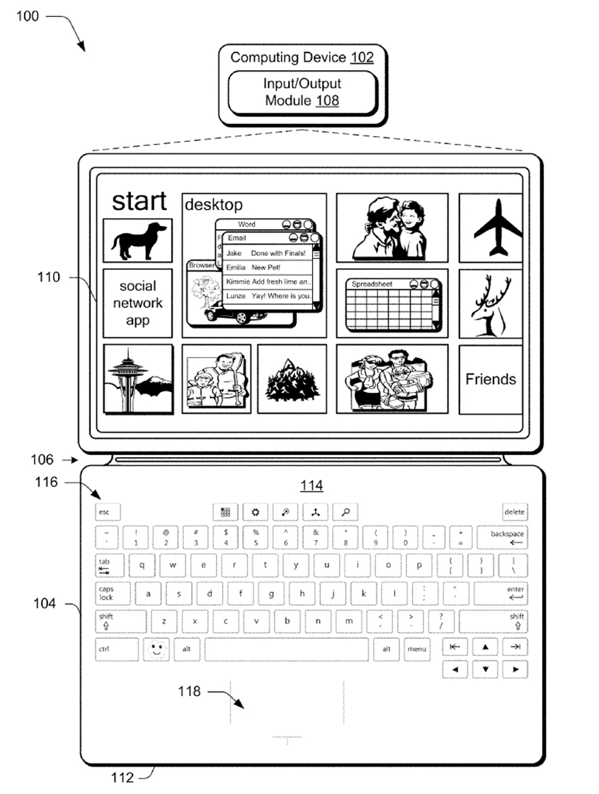 Surface Type Cover patent image