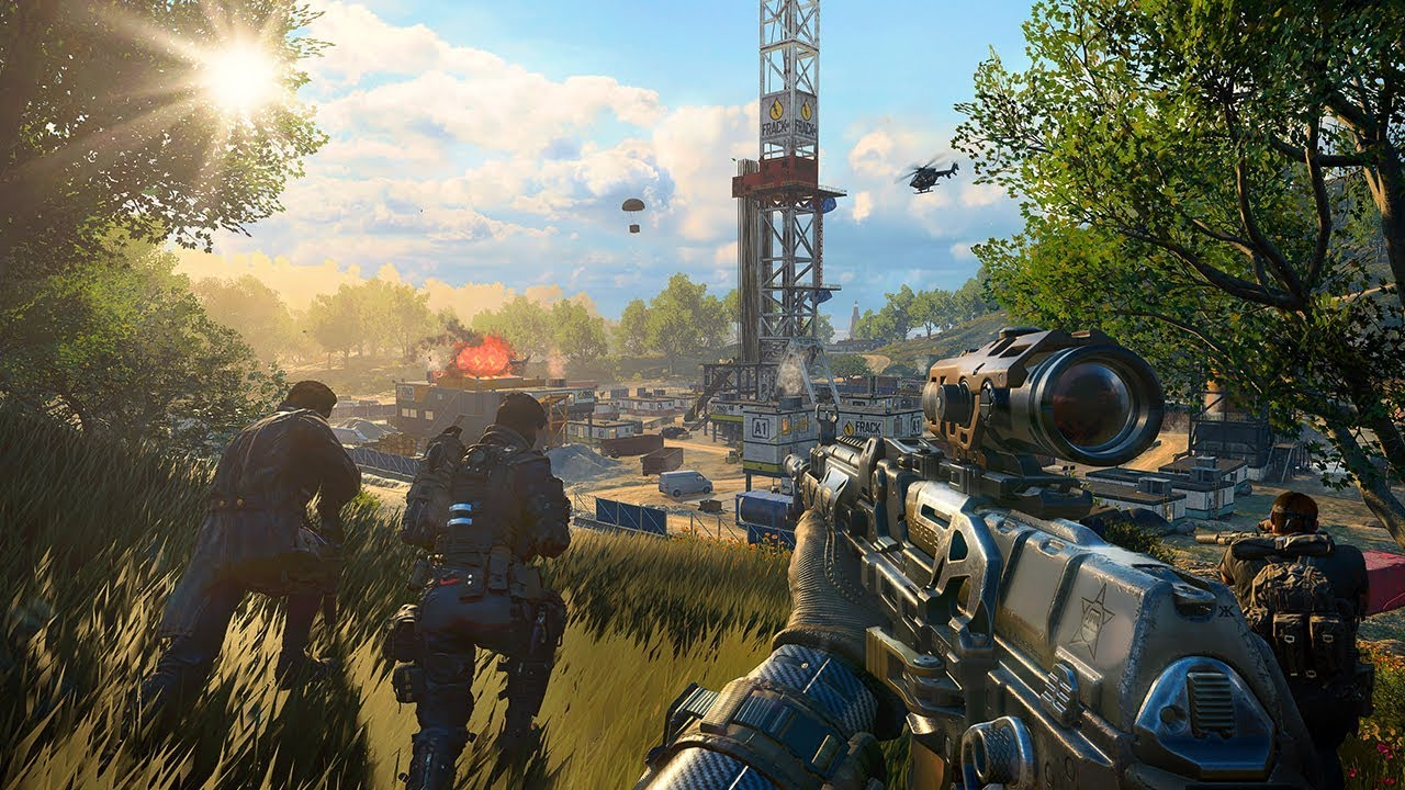 Call of Duty Black Ops 4 Blackout Mode