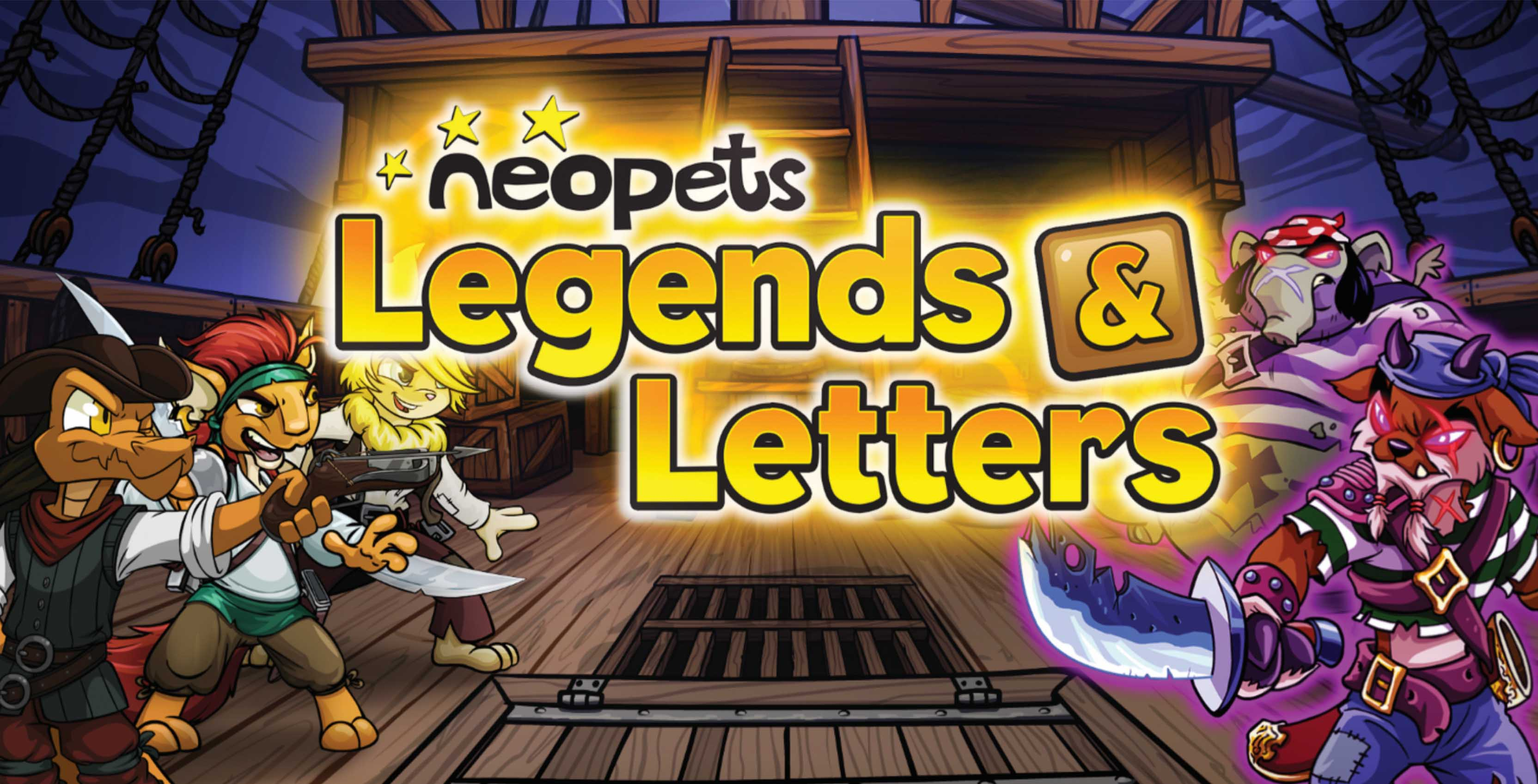 Neopets Legends and Letters