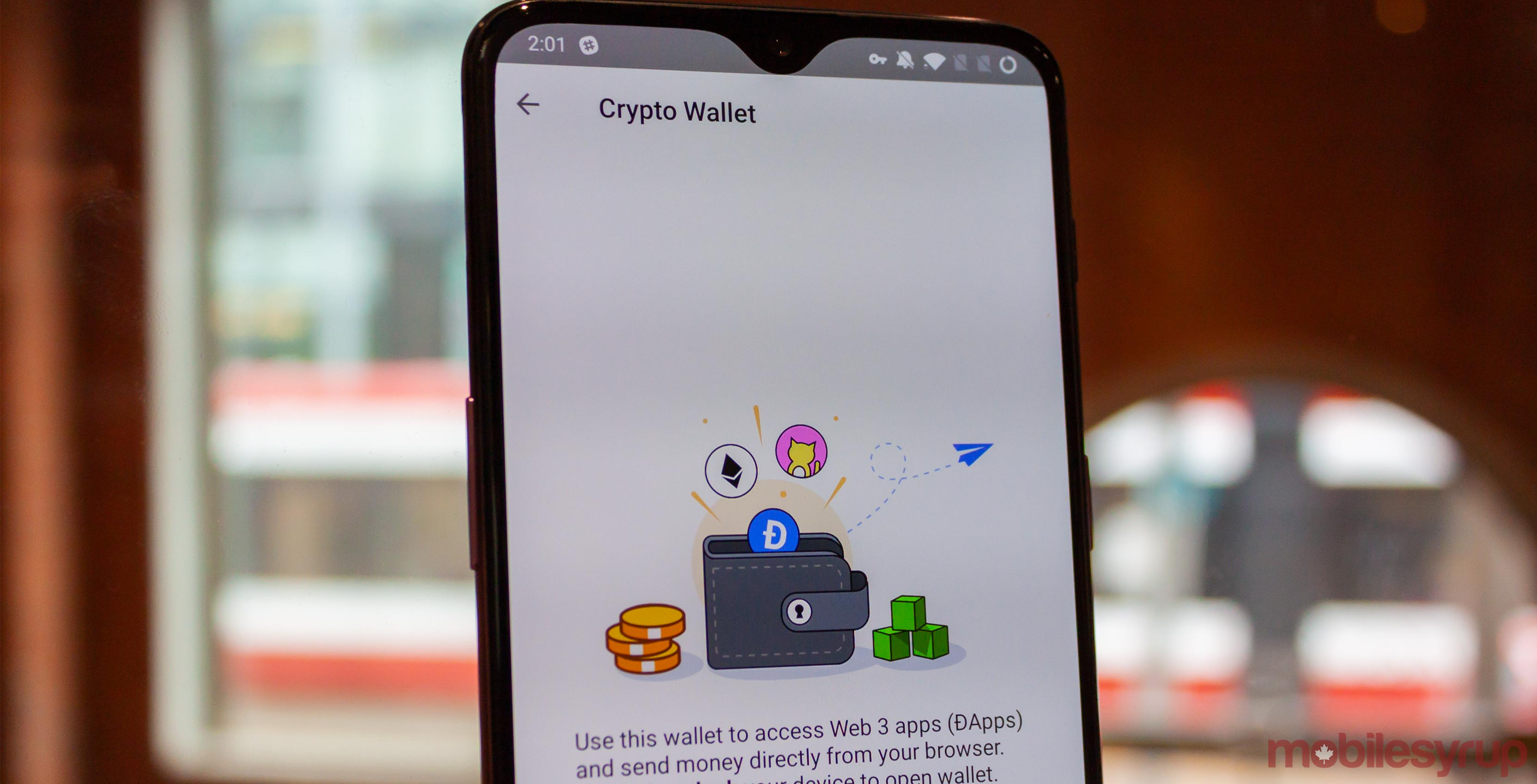 Opera for Android Crypto Wallet