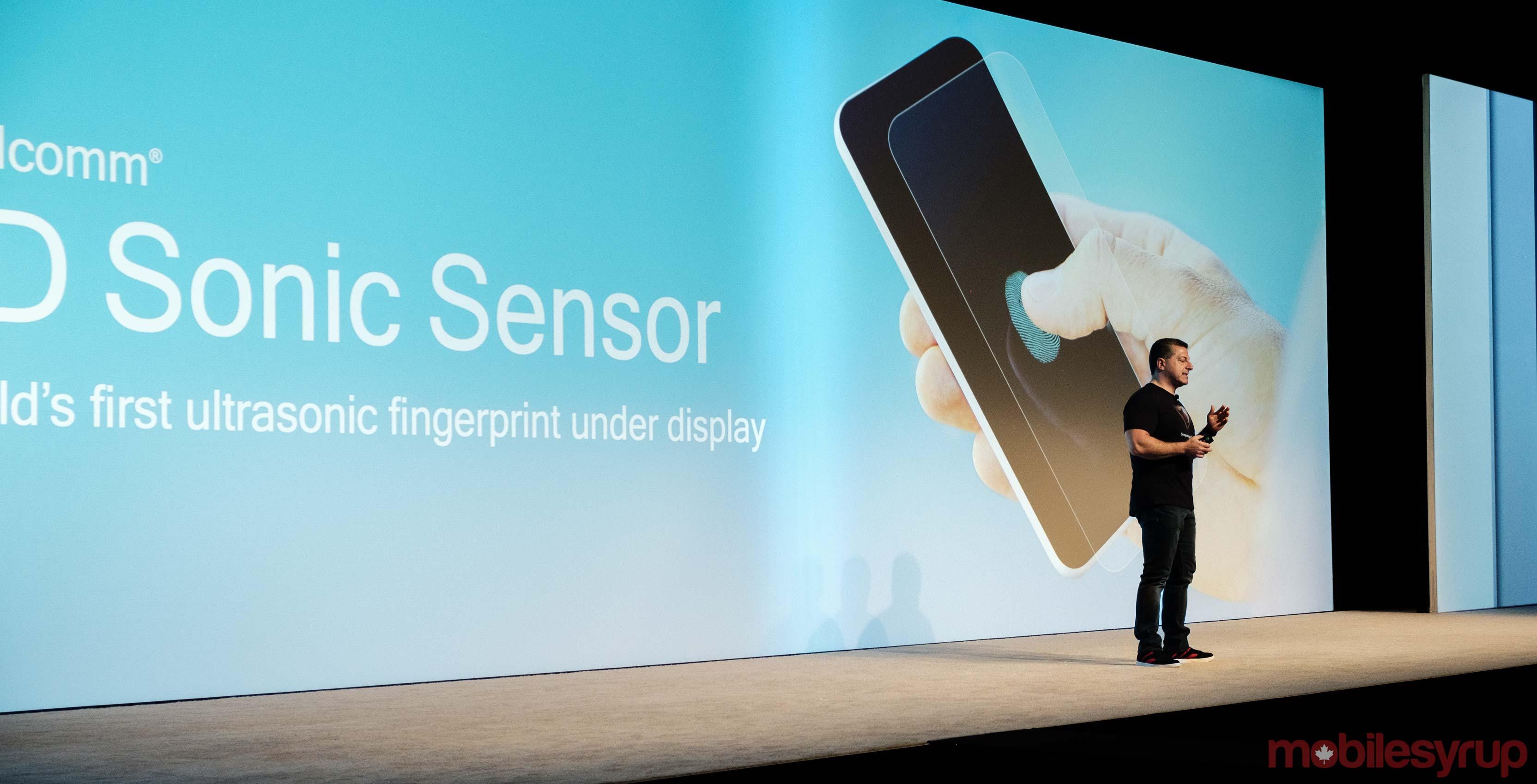 Qualcomm's announced its new 3D Sonic Sensor