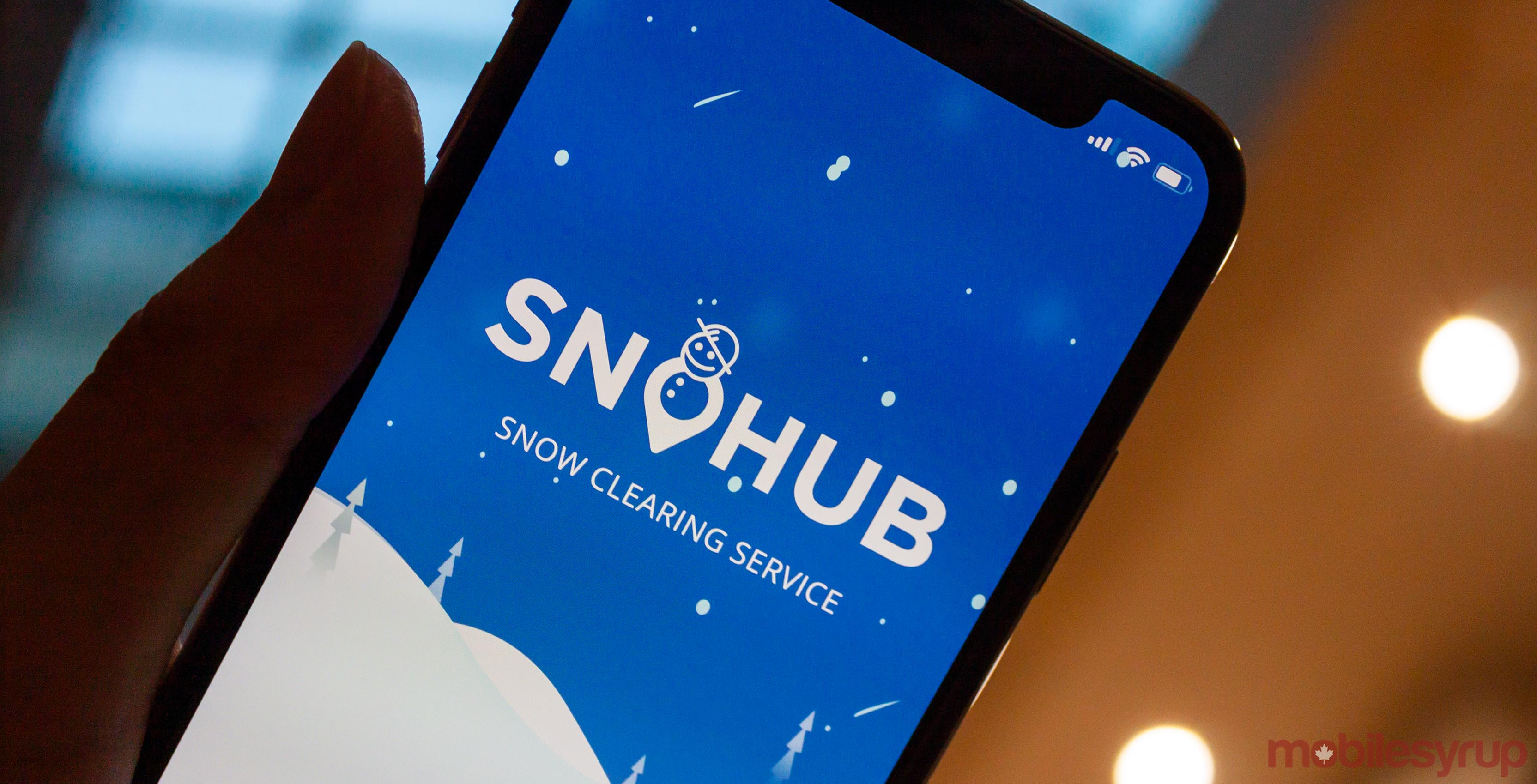 SnoHub app