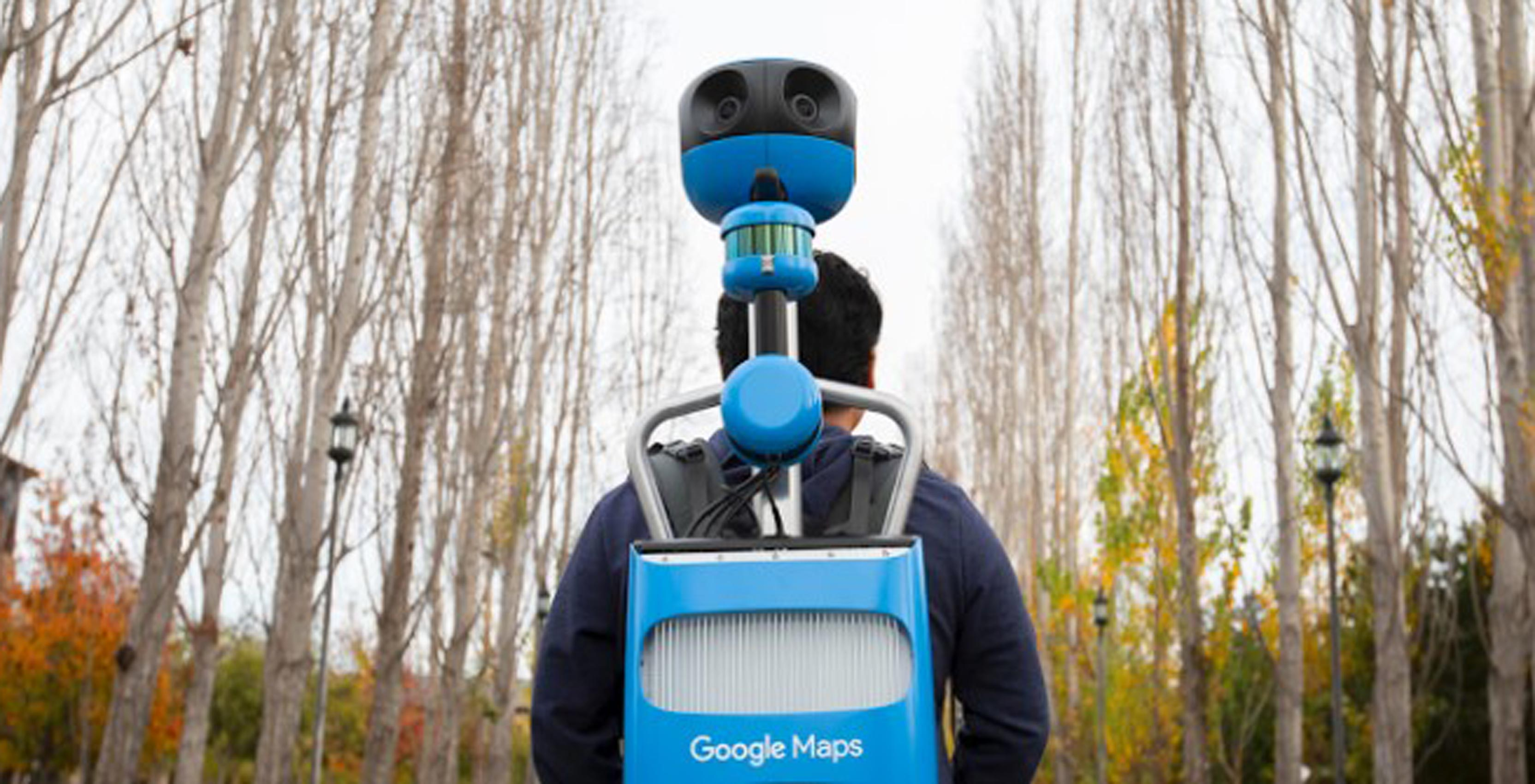 A look at the Google's new Street View Trekker